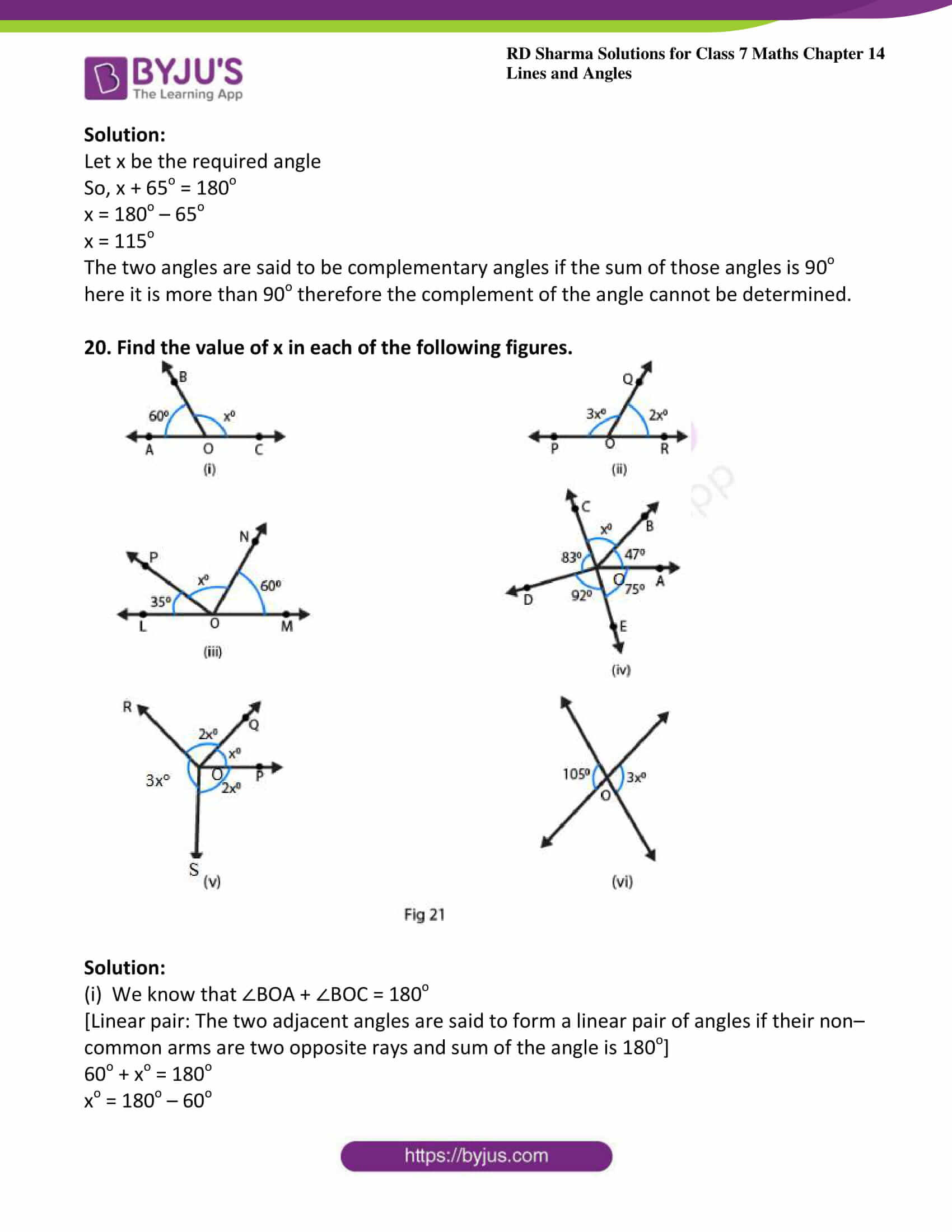 rd sharma maths class7 solution chapter 14 ex 1 10
