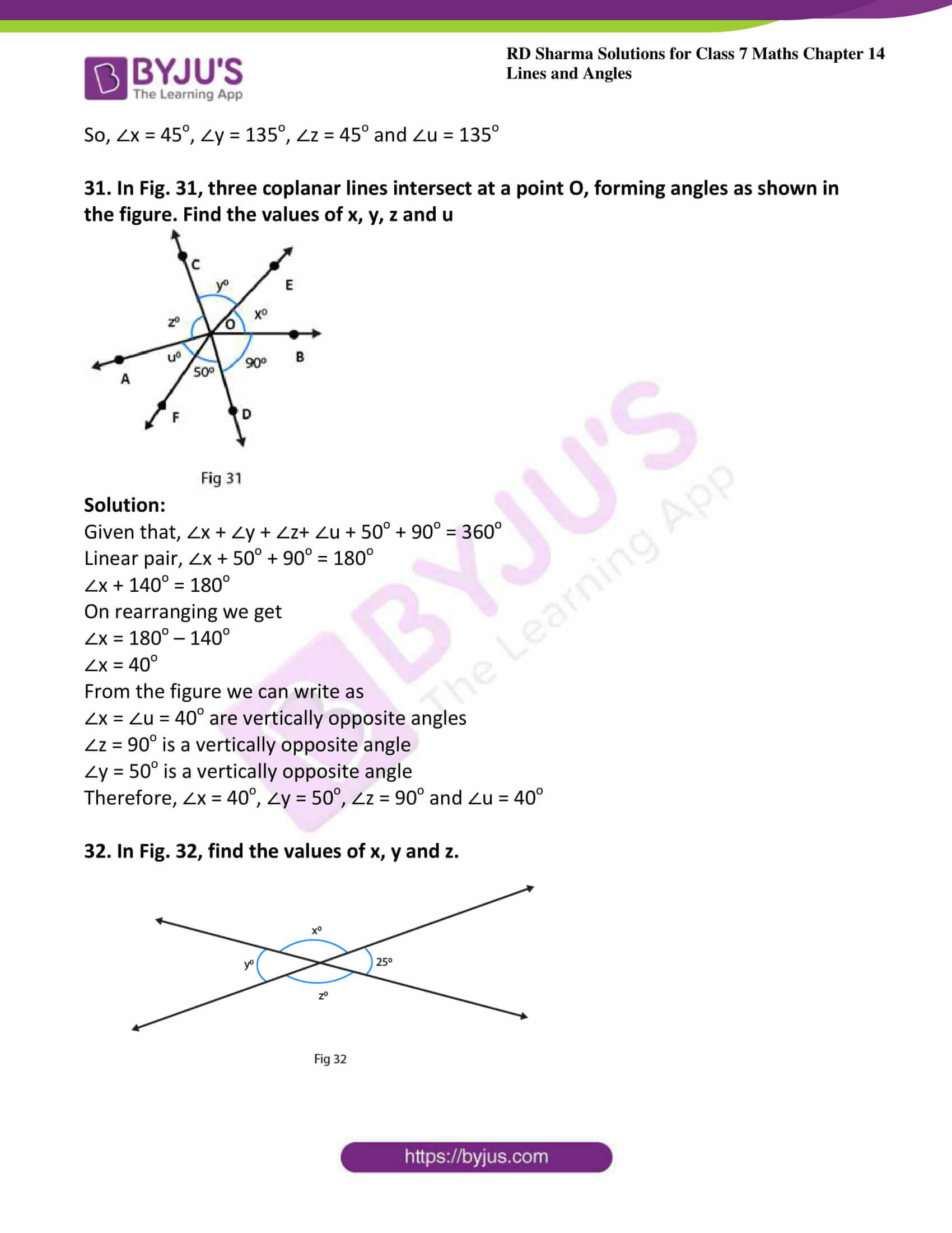 rd sharma maths class7 solution chapter 14 ex 1 18