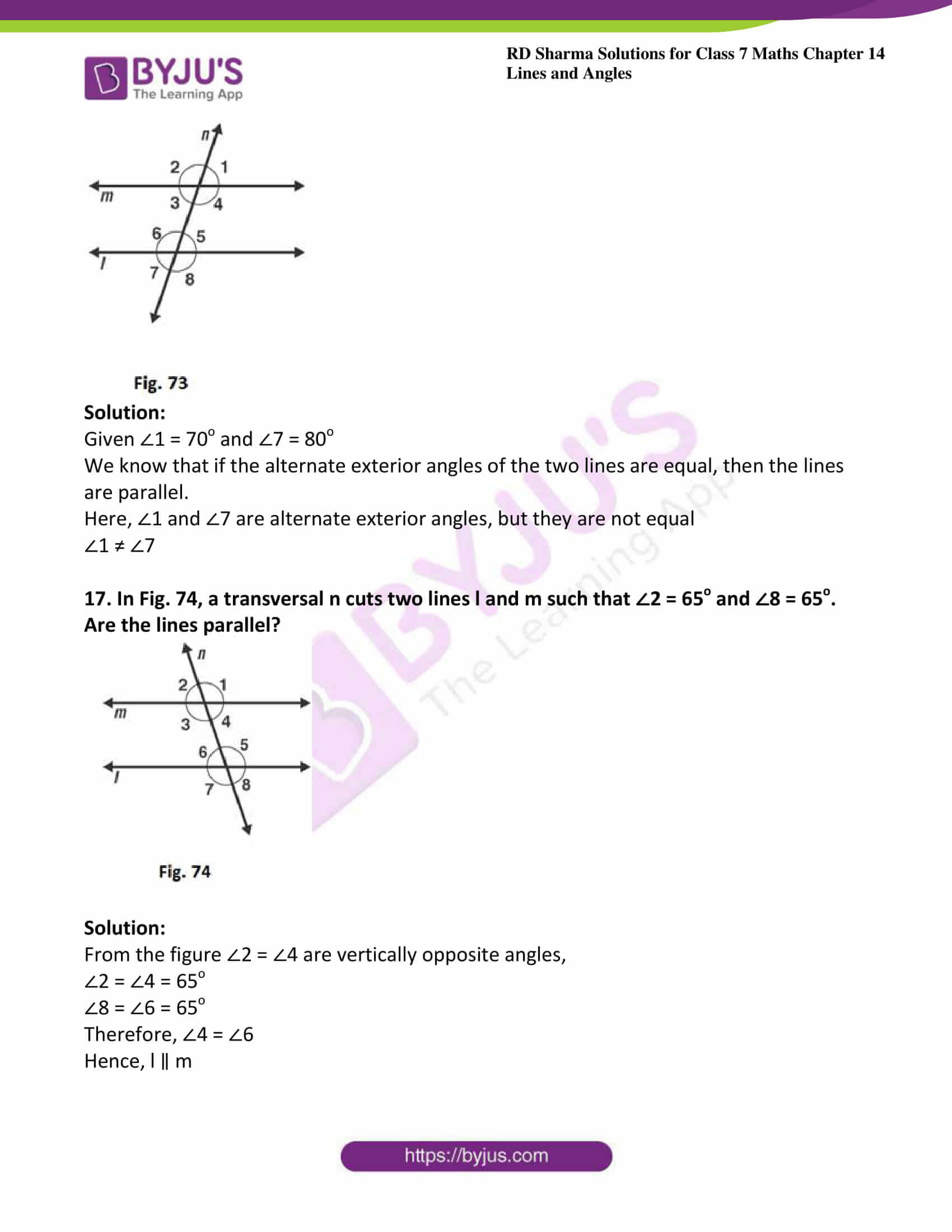 rd sharma maths class7 solution chapter 14 ex 2 14