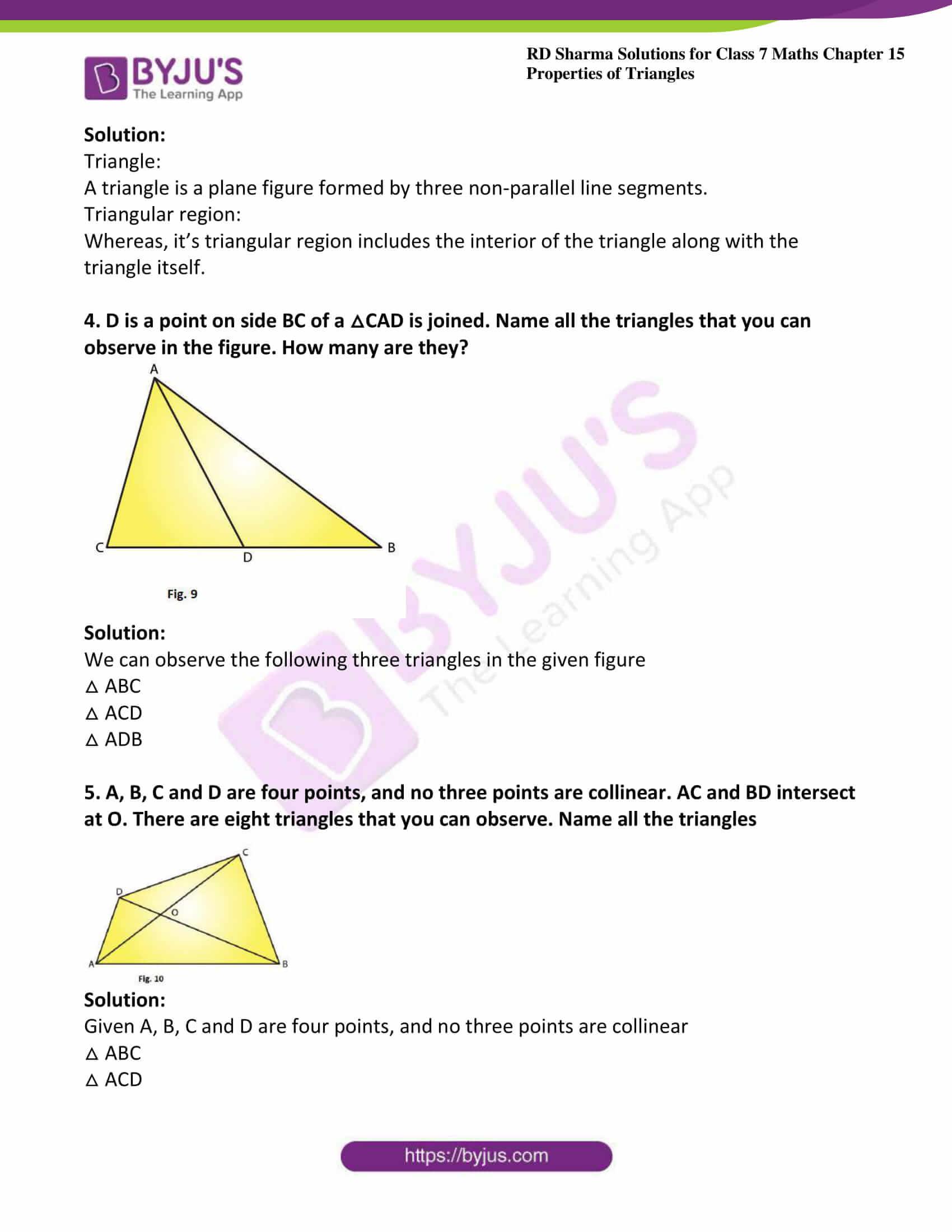 rd sharma maths class7 solution chapter 15 ex 1 2