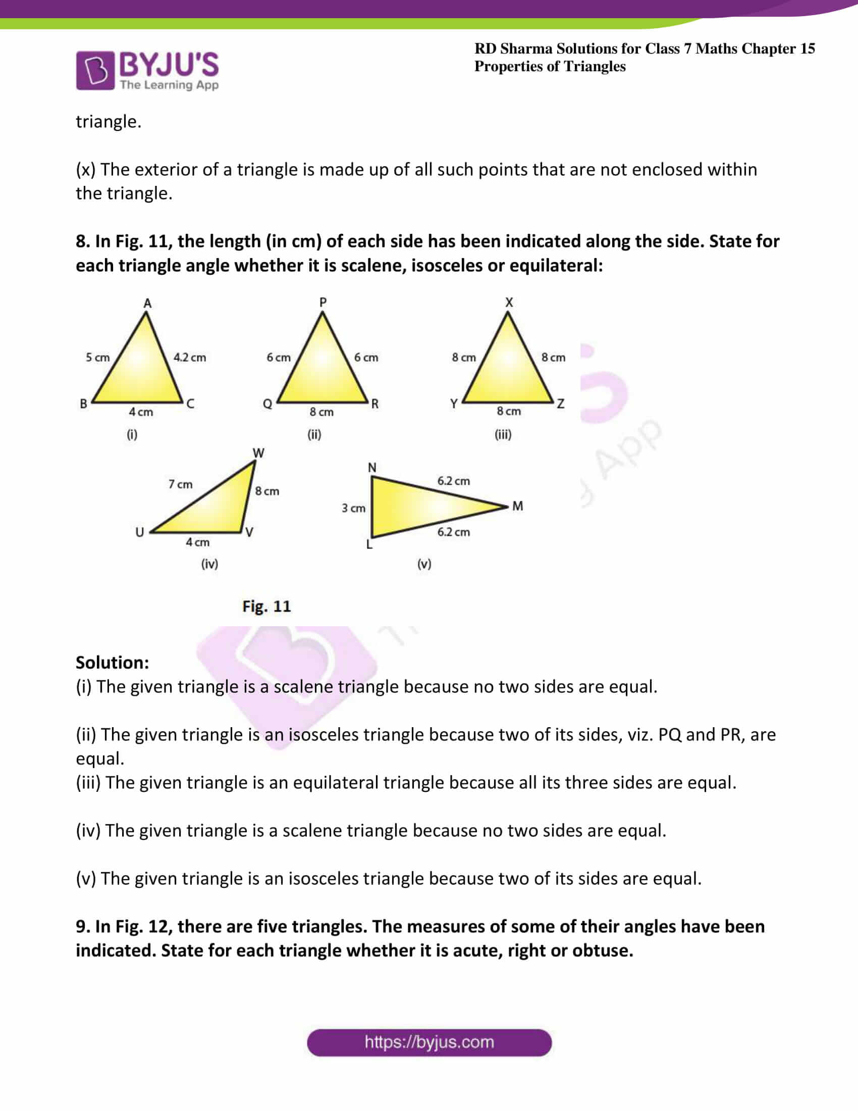 rd sharma maths class7 solution chapter 15 ex 1 5