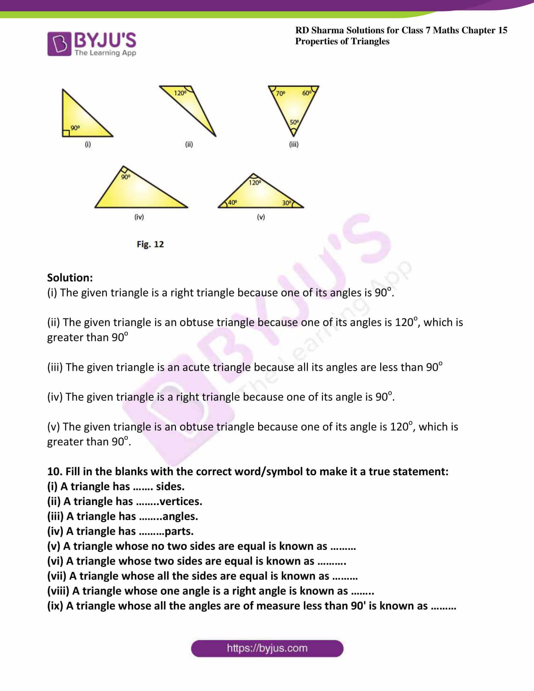 rd sharma maths class7 solution chapter 15 ex 1 6