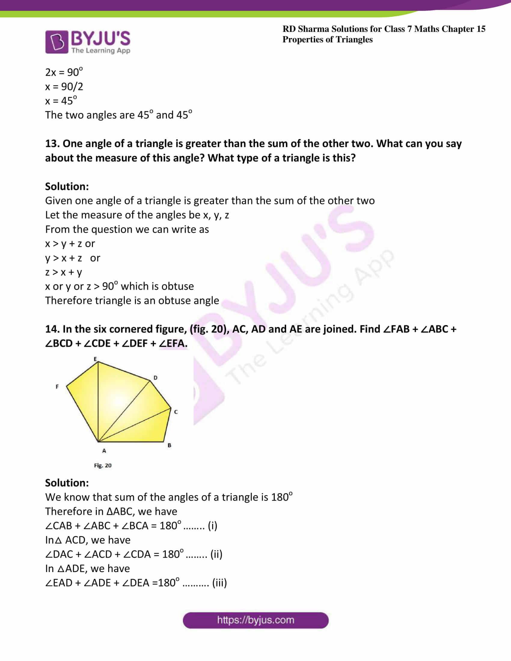 rd sharma maths class7 solution chapter 15 ex 2 06