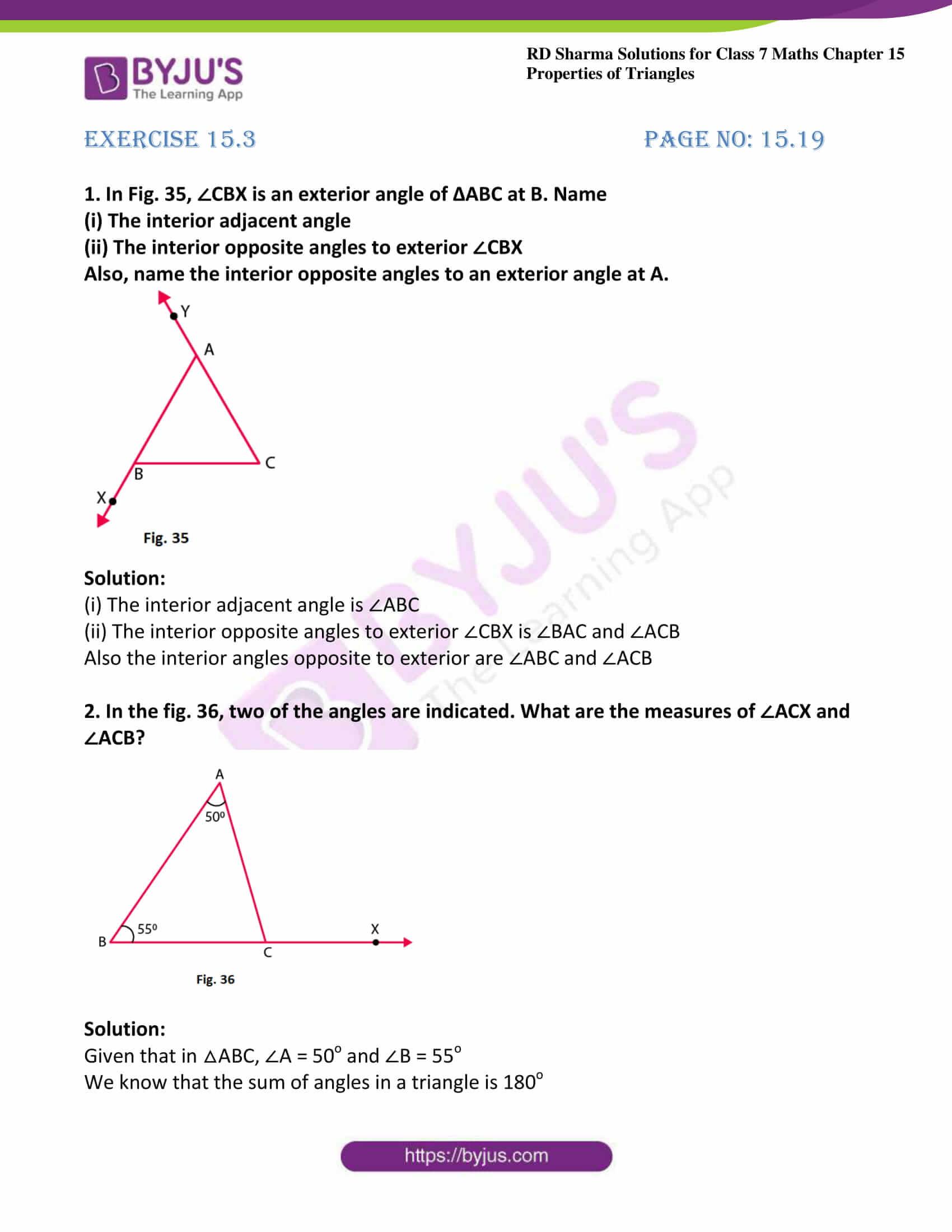 rd sharma maths class7 solution chapter 15 ex 3 01