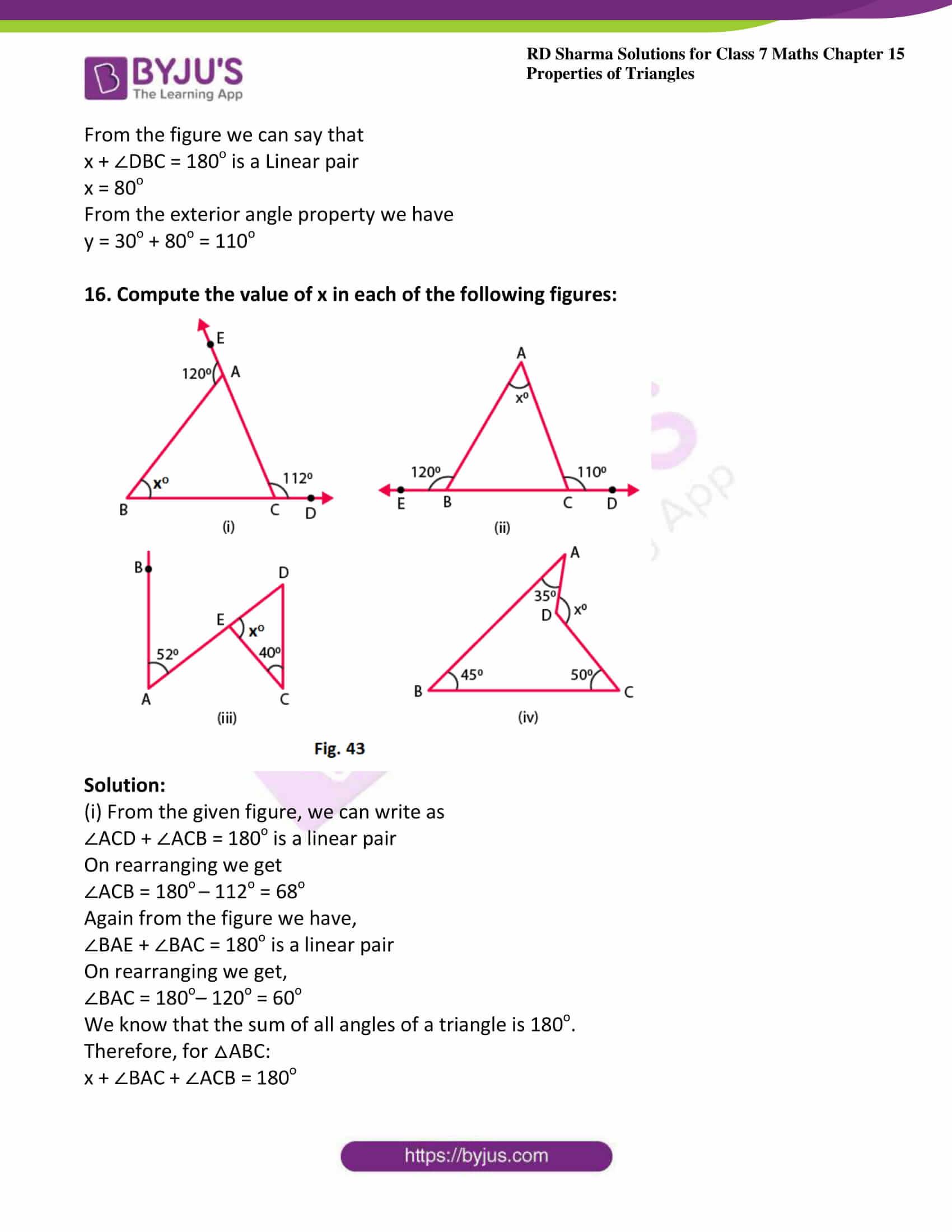rd sharma maths class7 solution chapter 15 ex 3 12