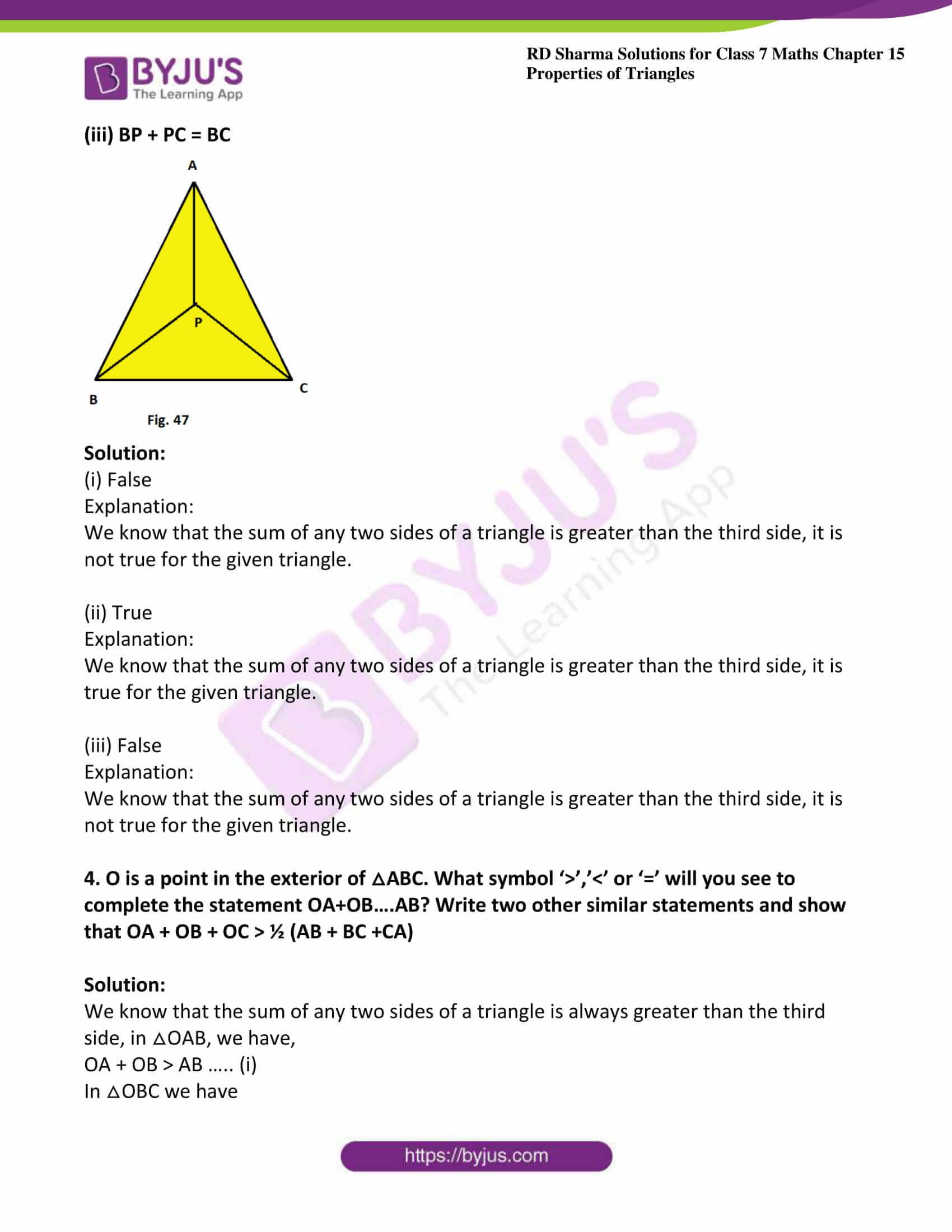 rd sharma maths class7 solution chapter 15 ex 4 3
