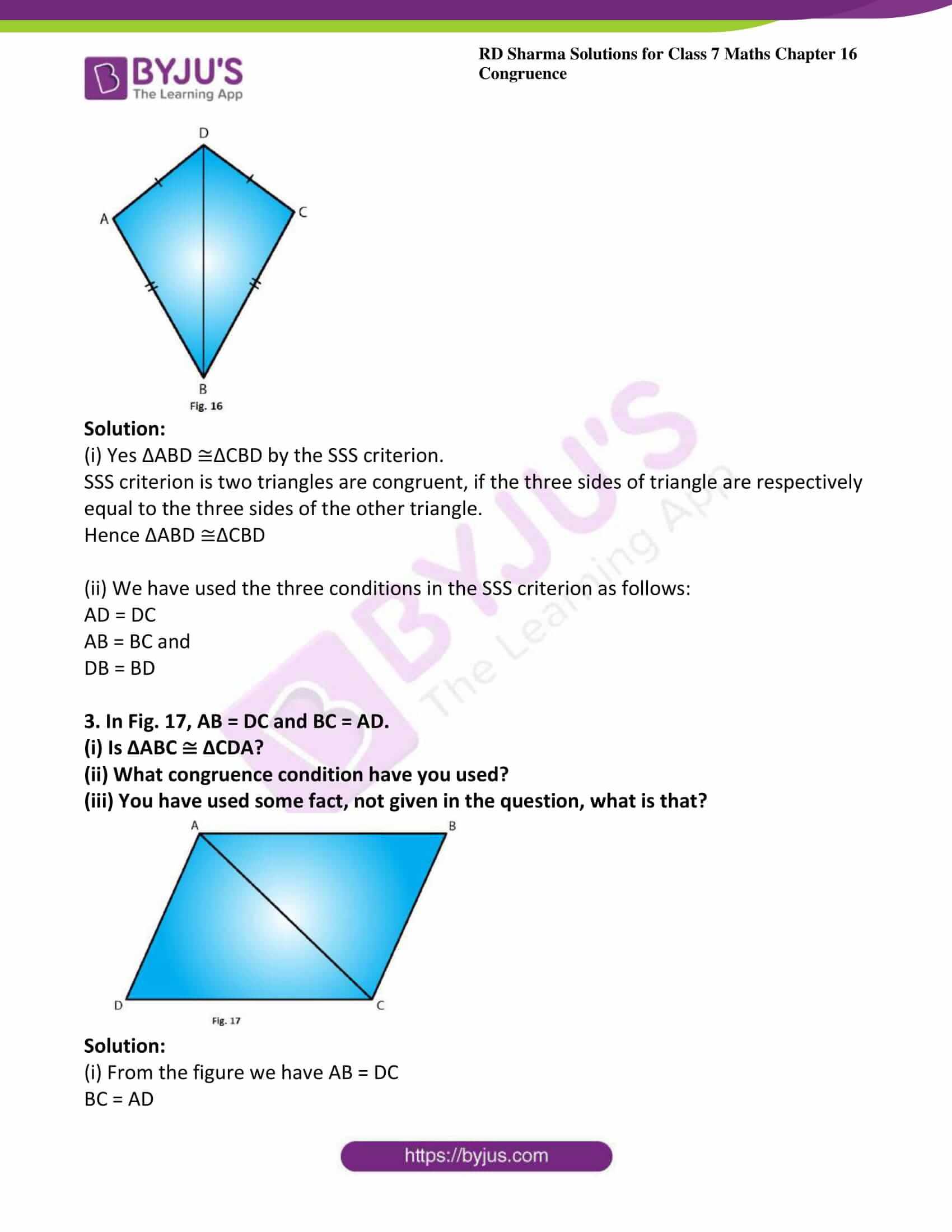 rd sharma maths class7 solution chapter 16 ex 2 3