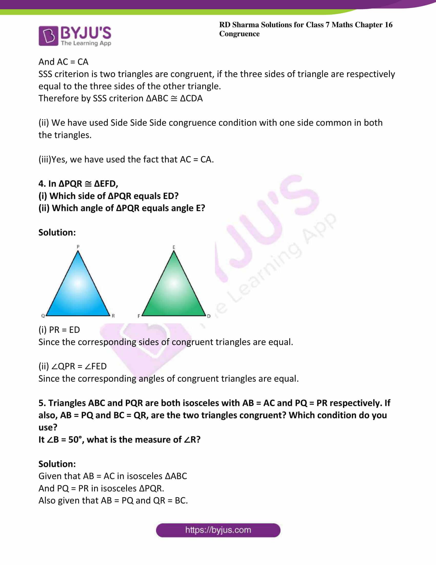 rd sharma maths class7 solution chapter 16 ex 2 4