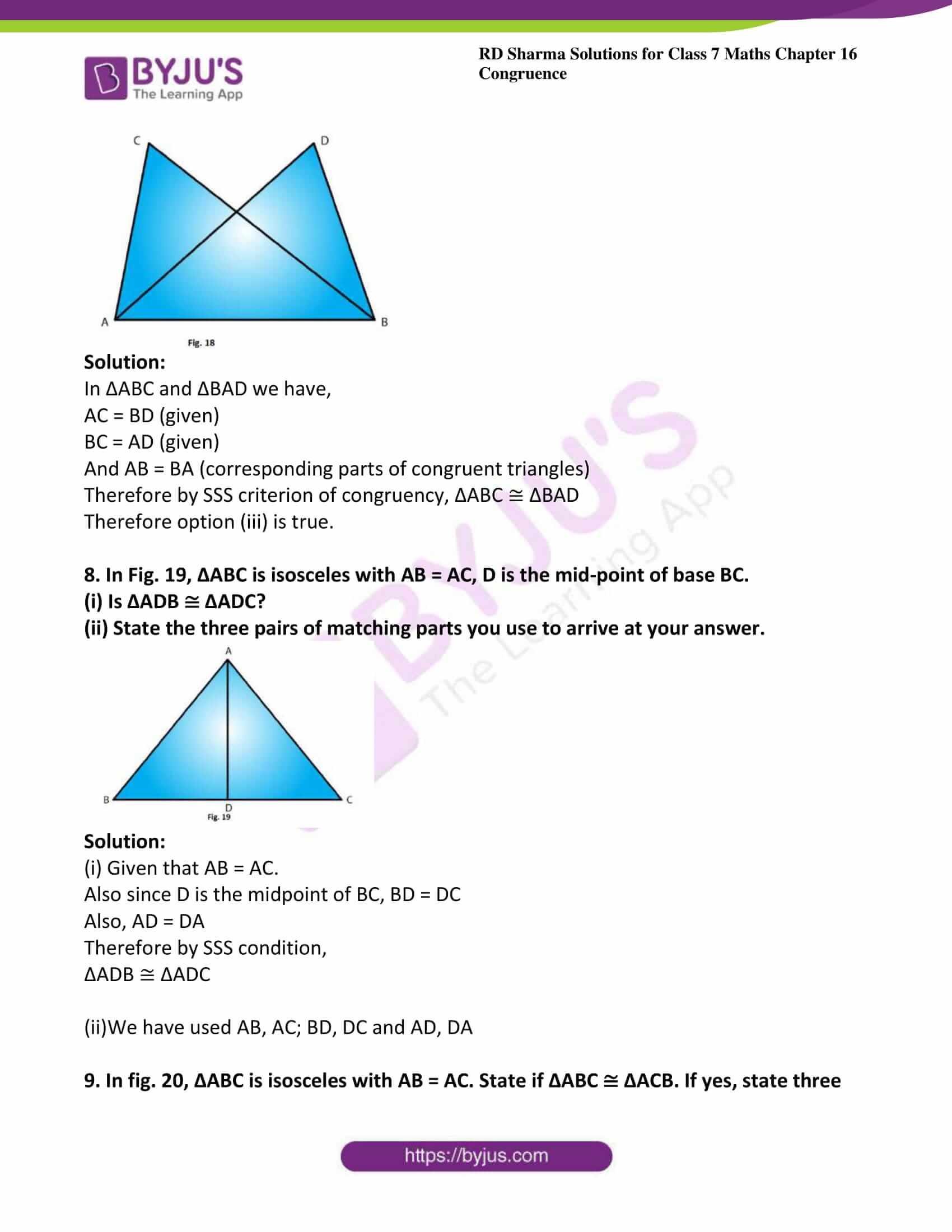 rd sharma maths class7 solution chapter 16 ex 2 6