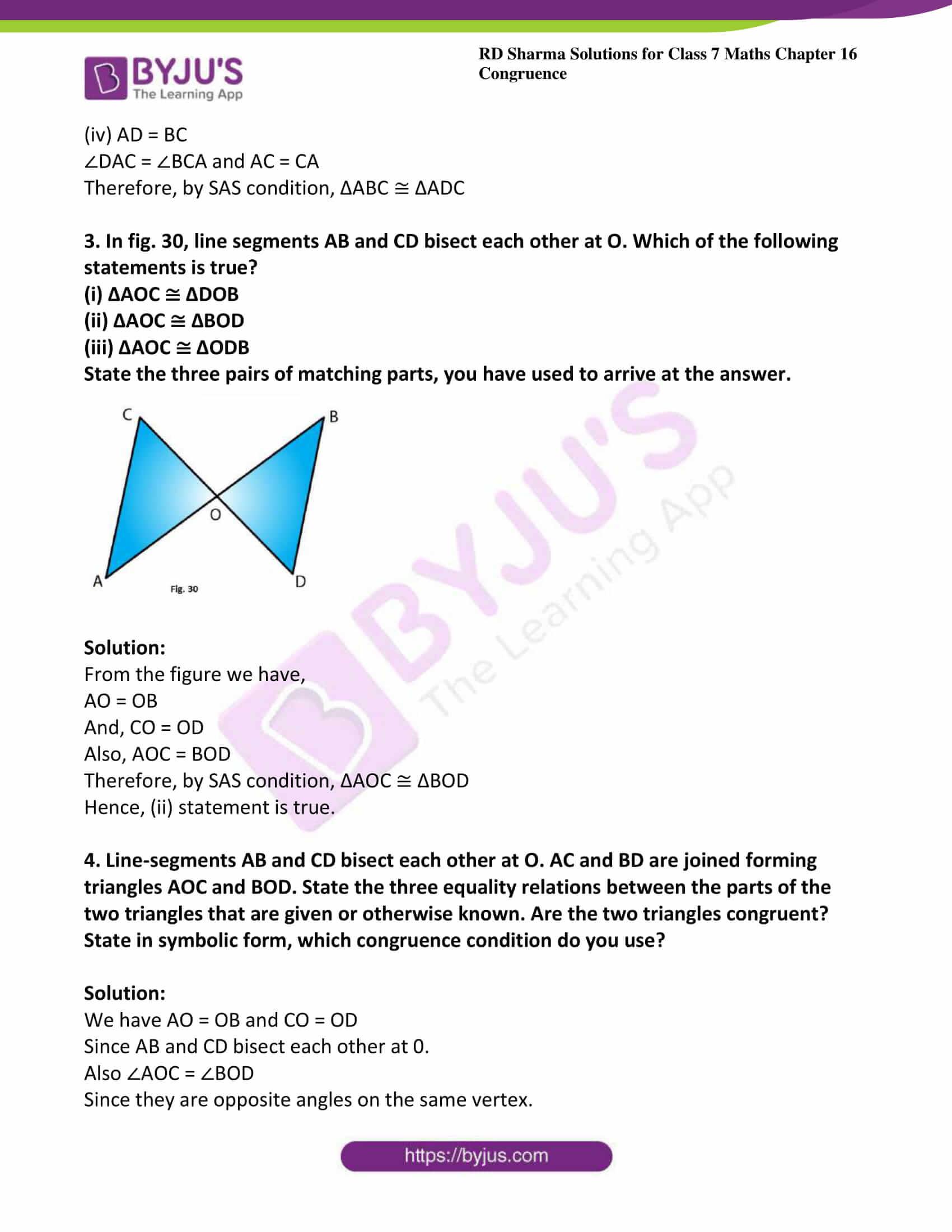 rd sharma maths class7 solution chapter 16 ex 3 3
