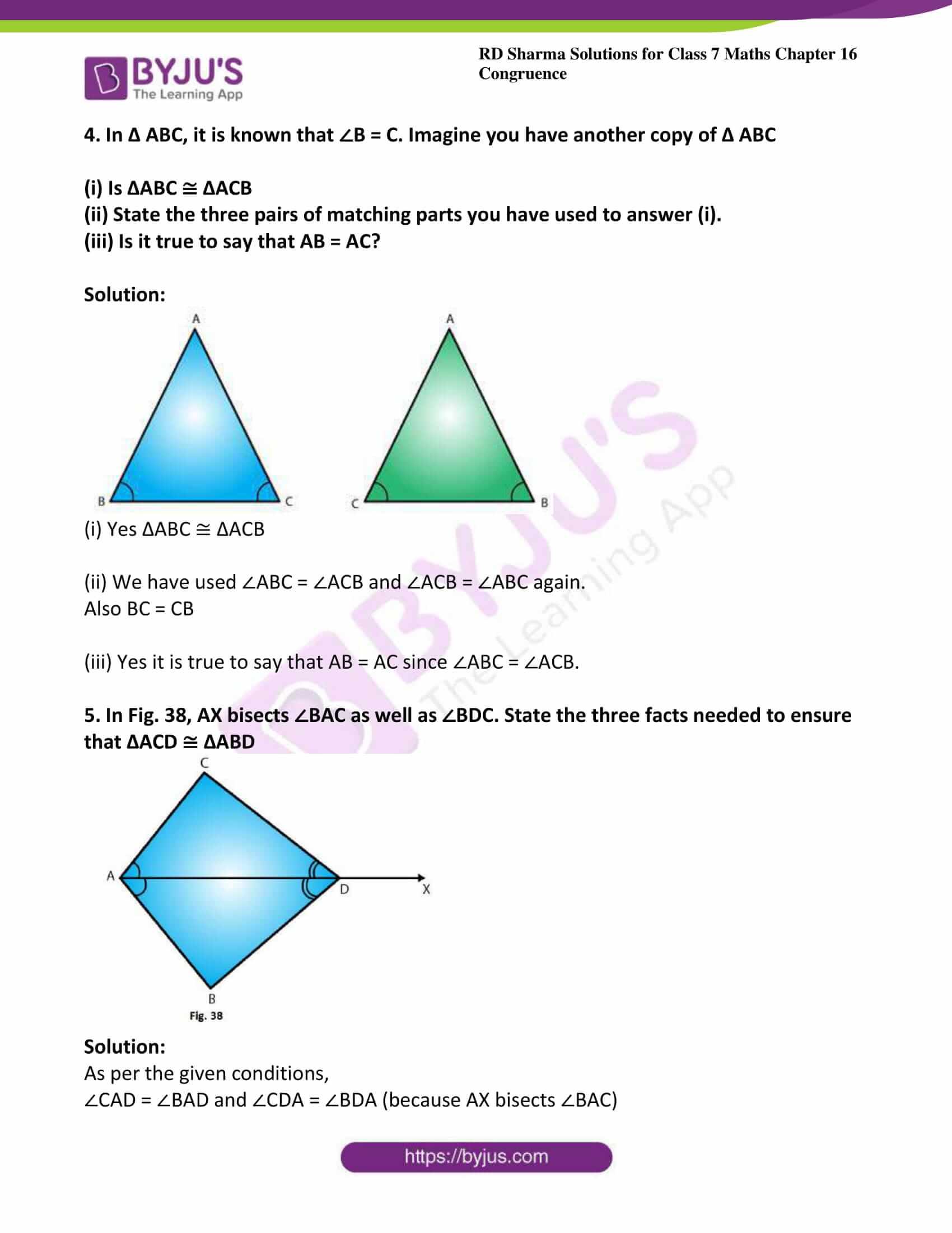 rd sharma maths class7 solution chapter 16 ex 4 4