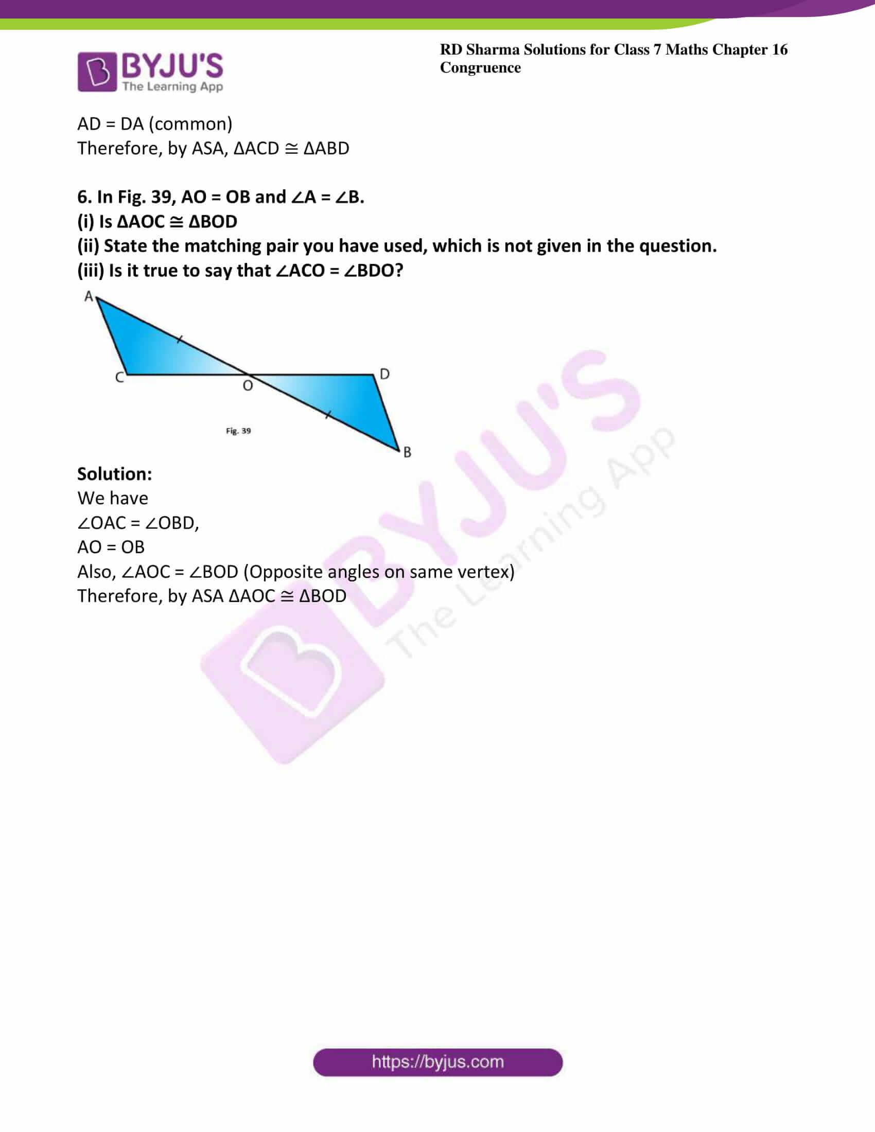 rd sharma maths class7 solution chapter 16 ex 4 5