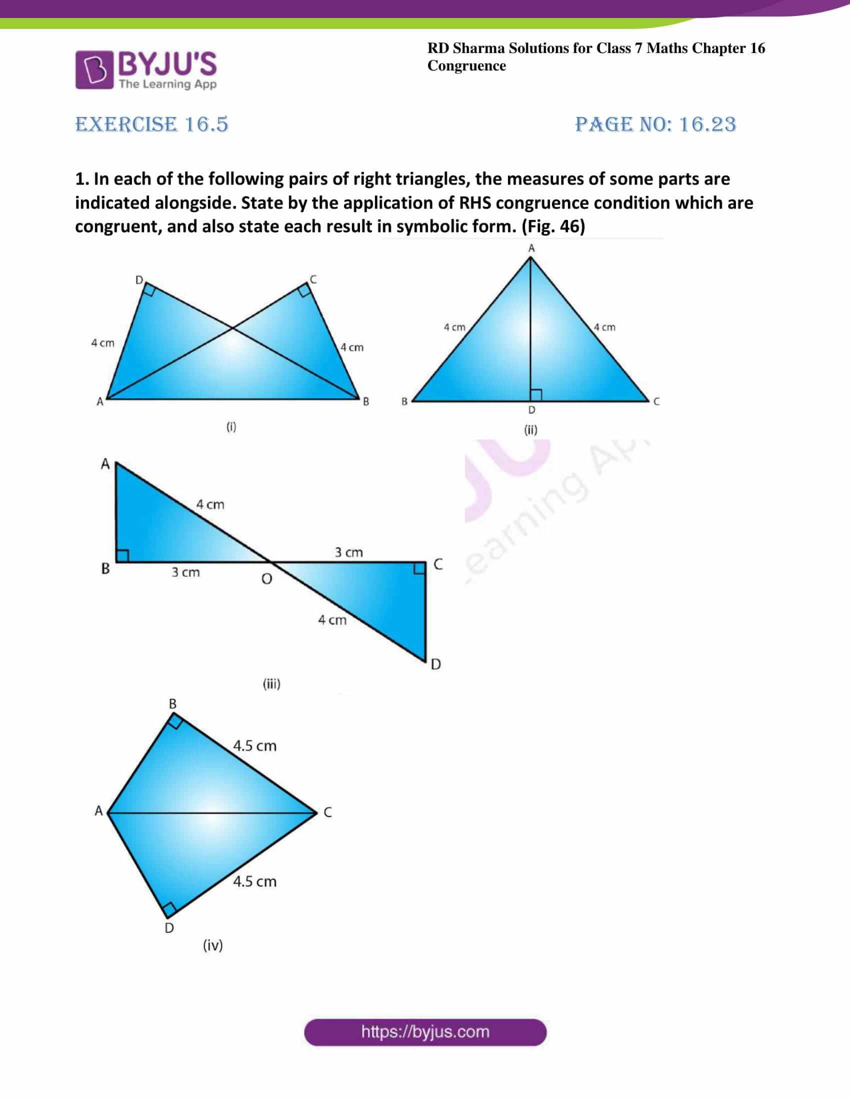 rd sharma maths class7 solution chapter 16 ex 5 1