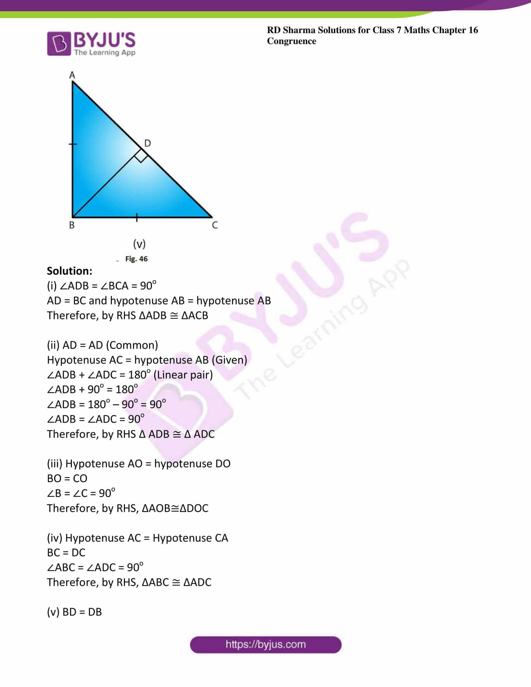 rd sharma maths class7 solution chapter 16 ex 5 2