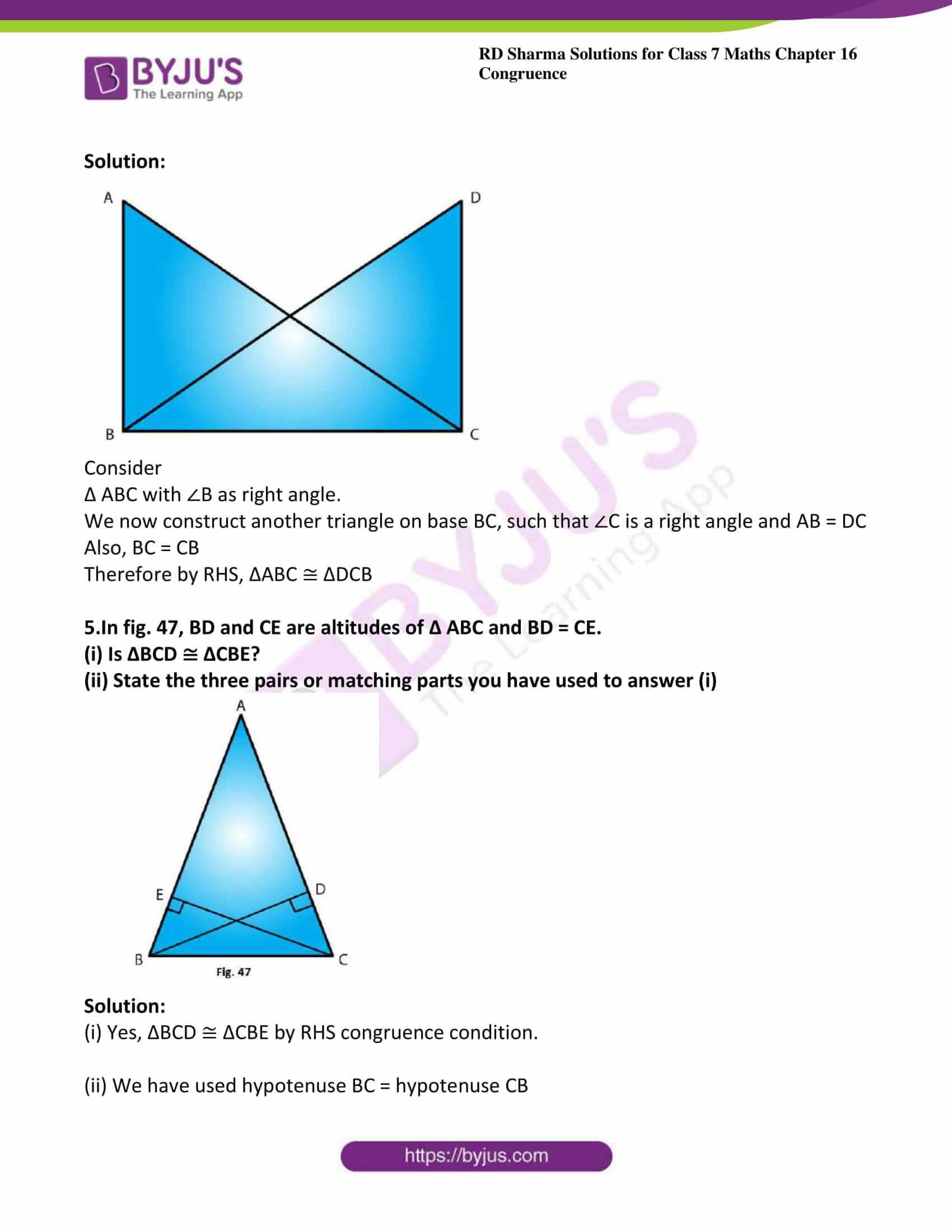 rd sharma maths class7 solution chapter 16 ex 5 4