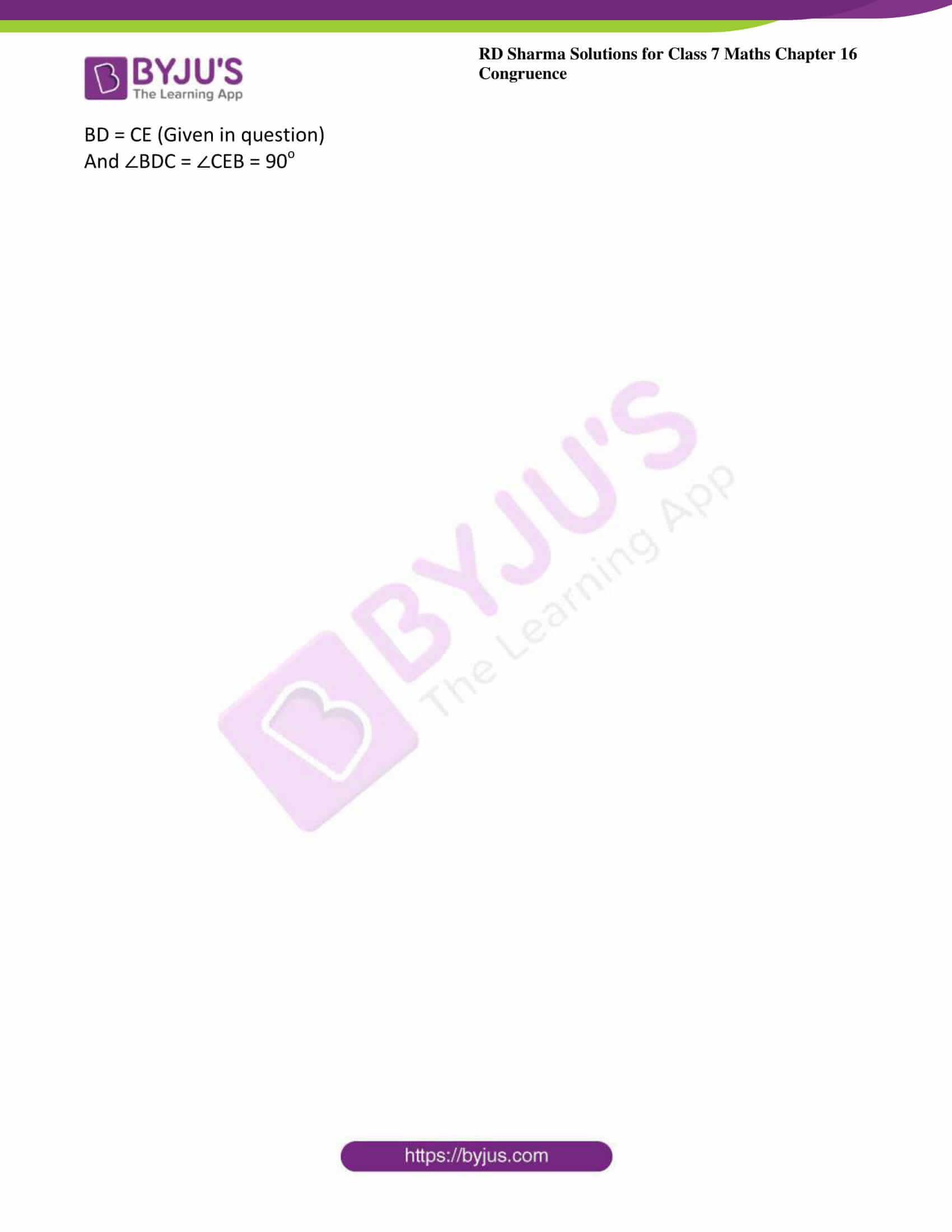 rd sharma maths class7 solution chapter 16 ex 5 5