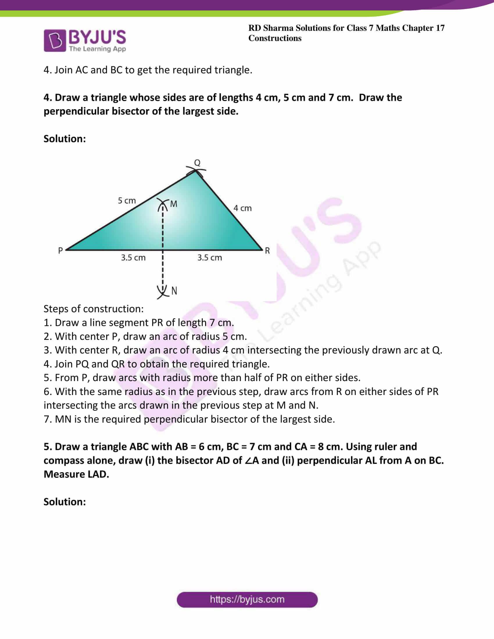 rd sharma maths class7 solution chapter 17 ex 2 3