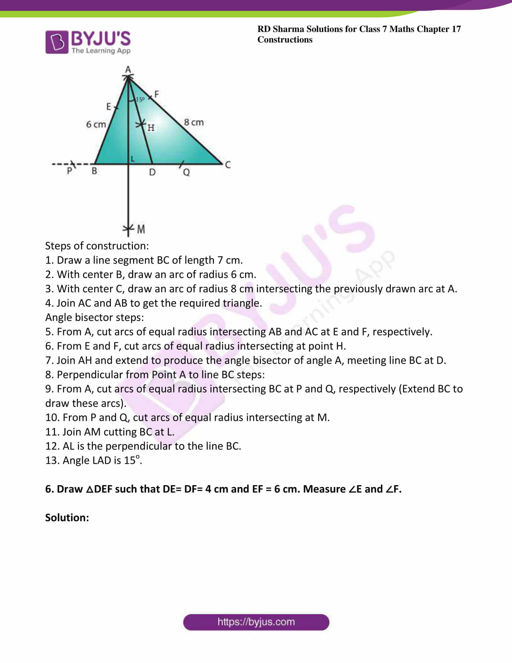rd sharma maths class7 solution chapter 17 ex 2 4