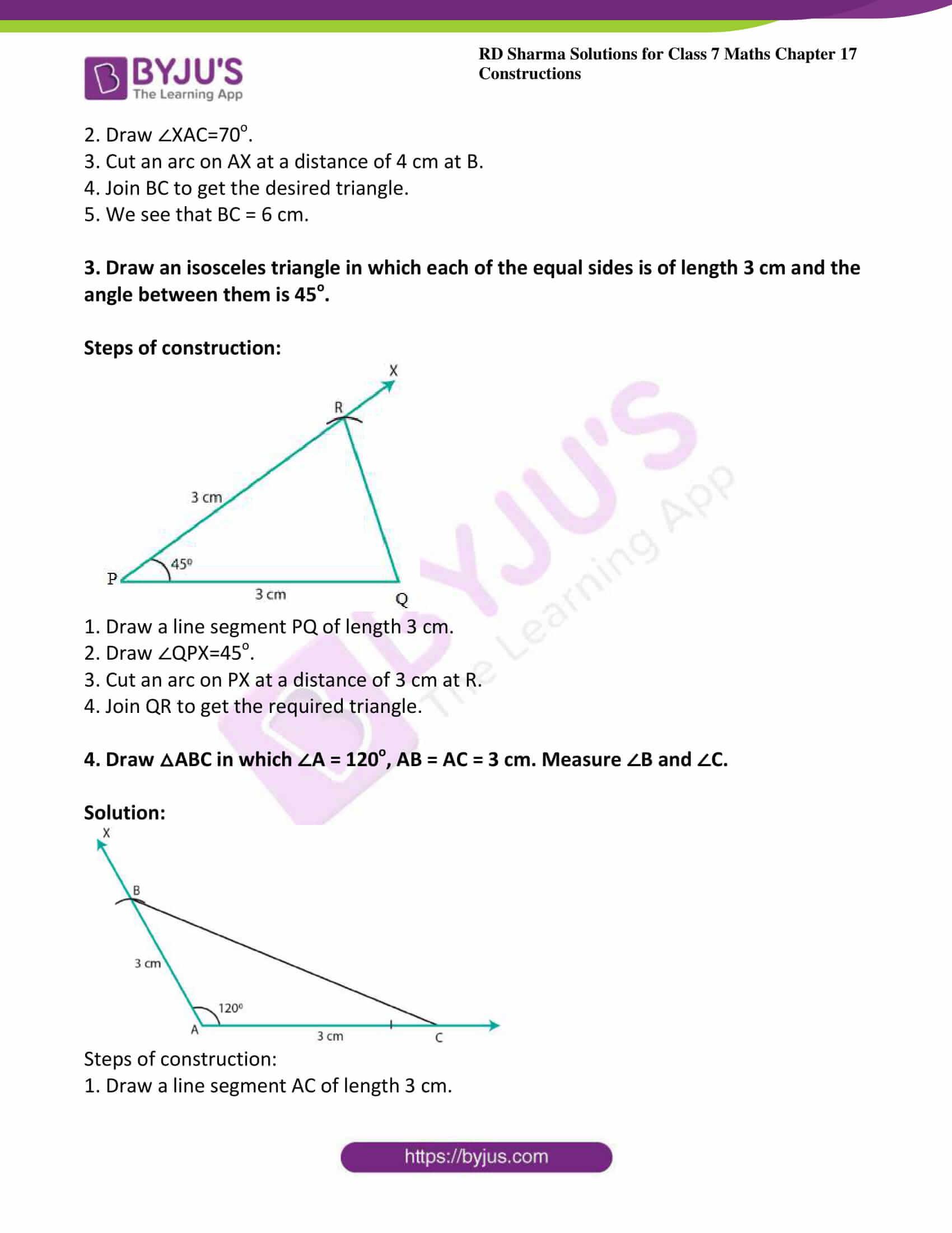 rd sharma maths class7 solution chapter 17 ex 3 2
