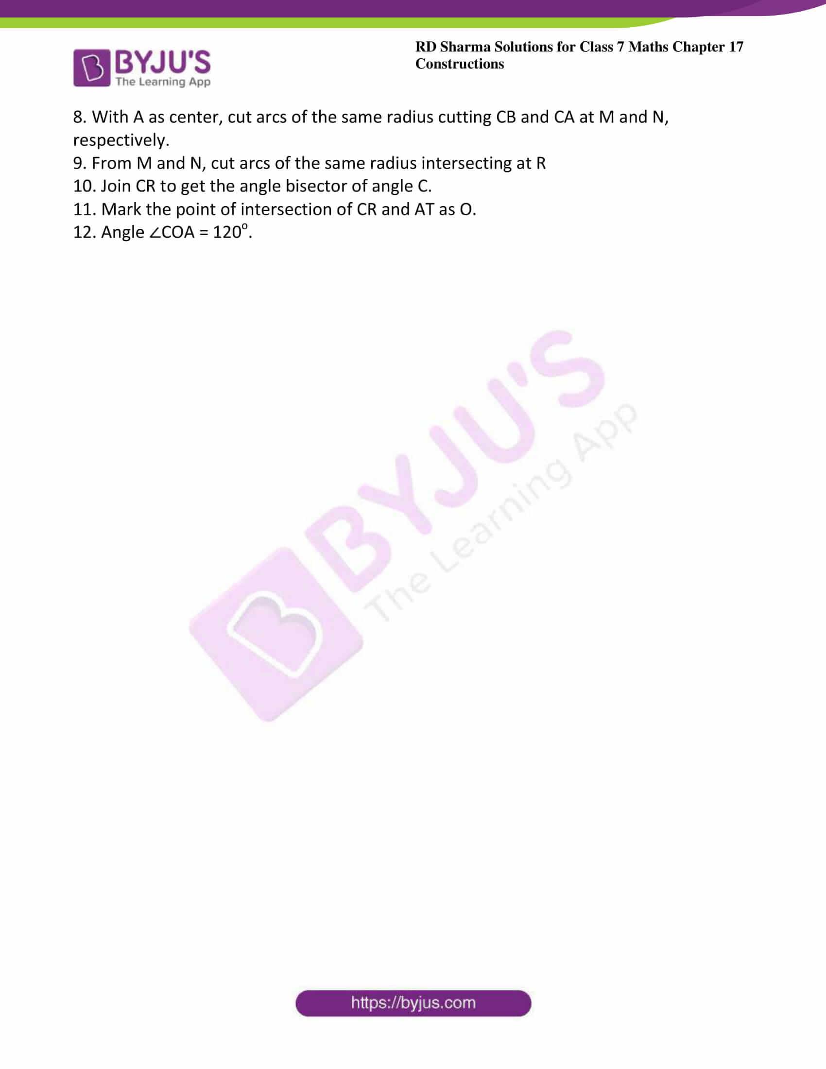 rd sharma maths class7 solution chapter 17 ex 3 5