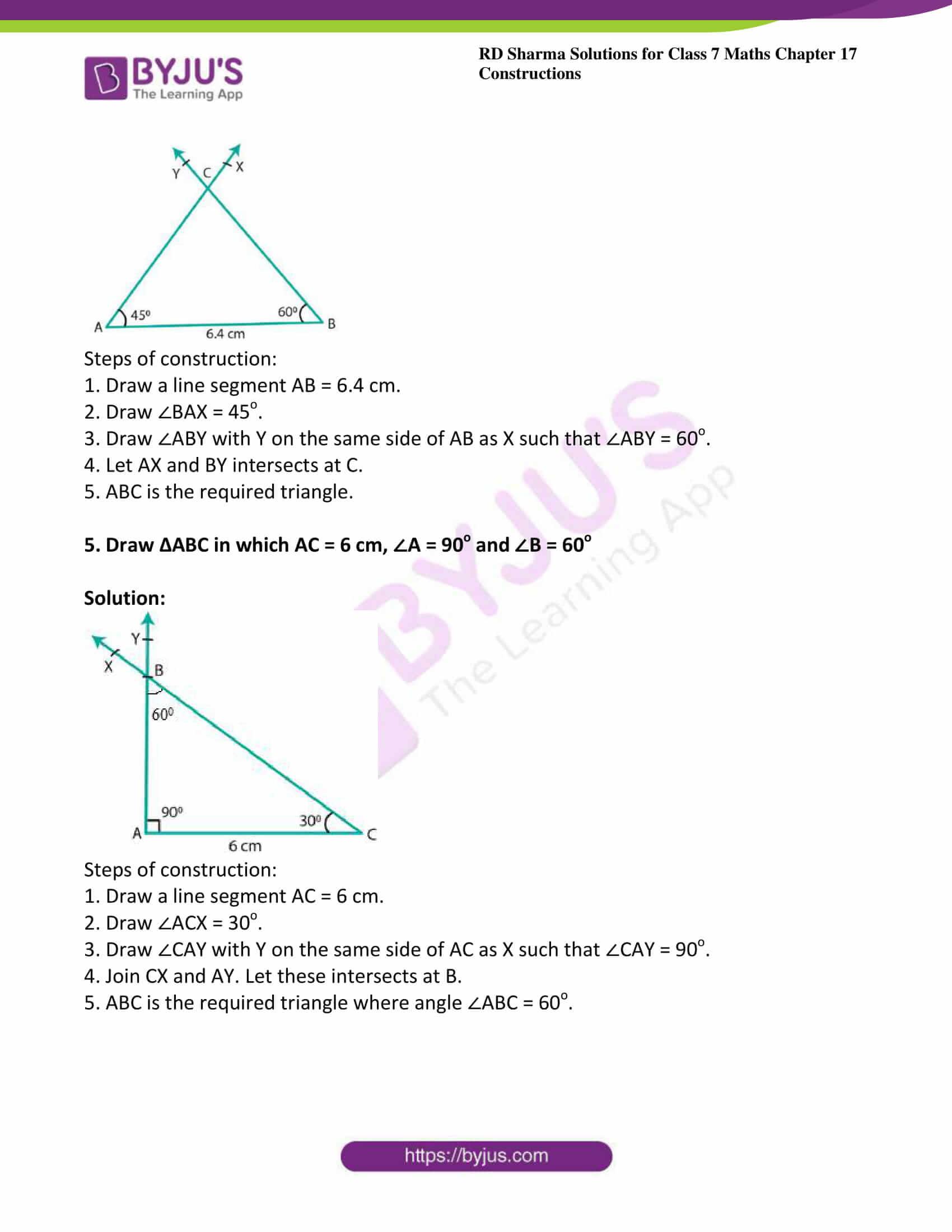 rd sharma maths class7 solution chapter 17 ex 4 3