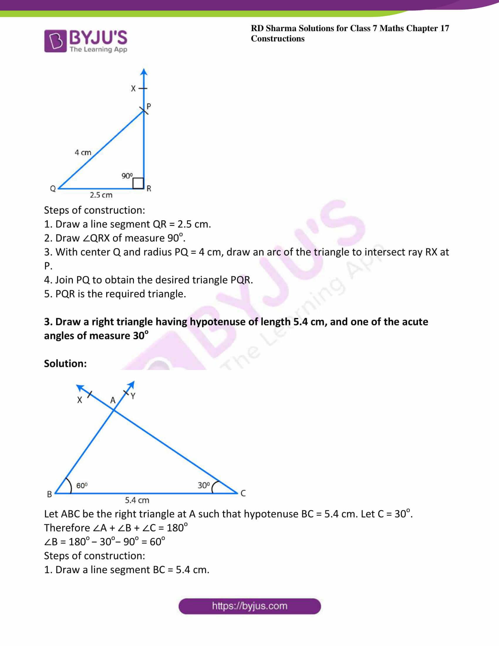 rd sharma maths class7 solution chapter 17 ex 5 2