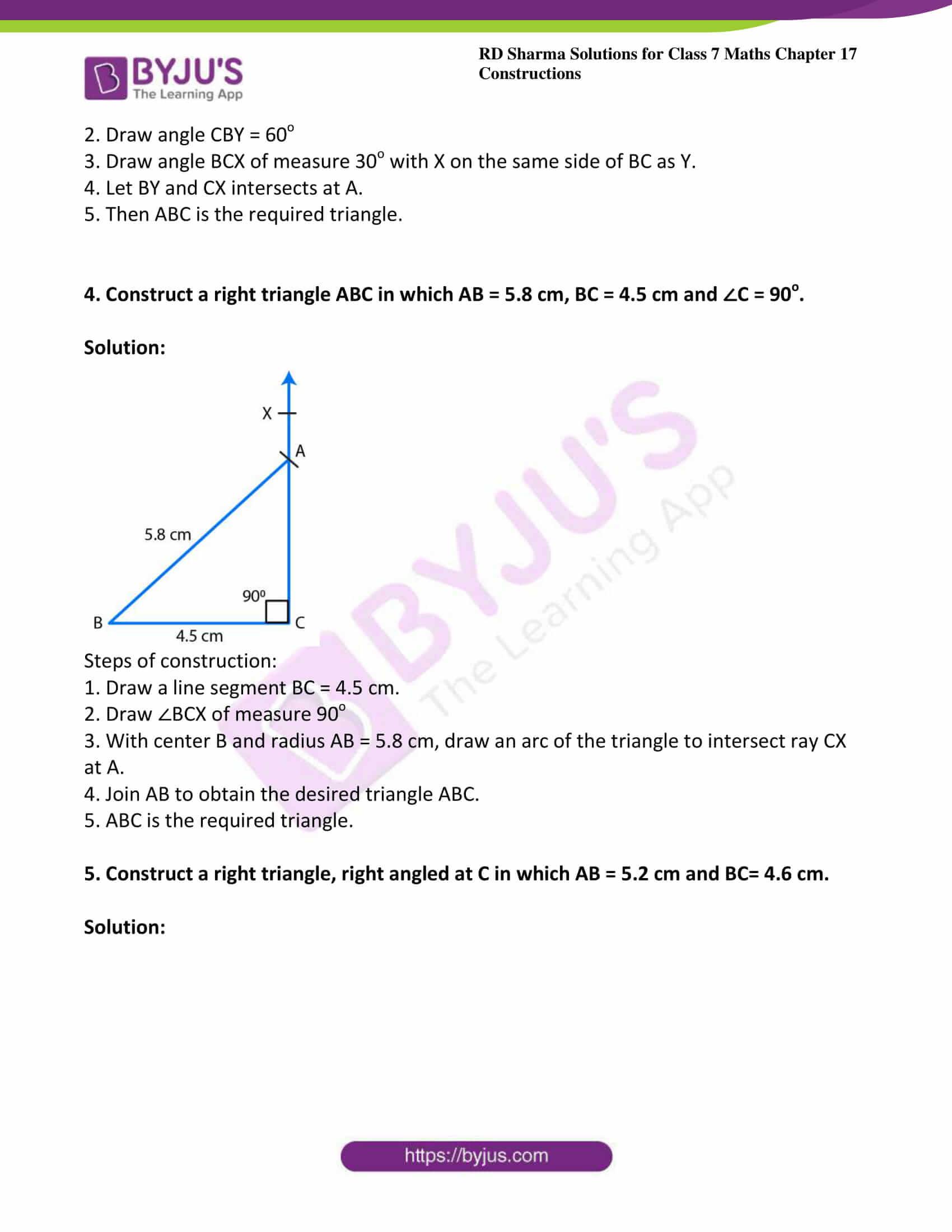rd sharma maths class7 solution chapter 17 ex 5 3