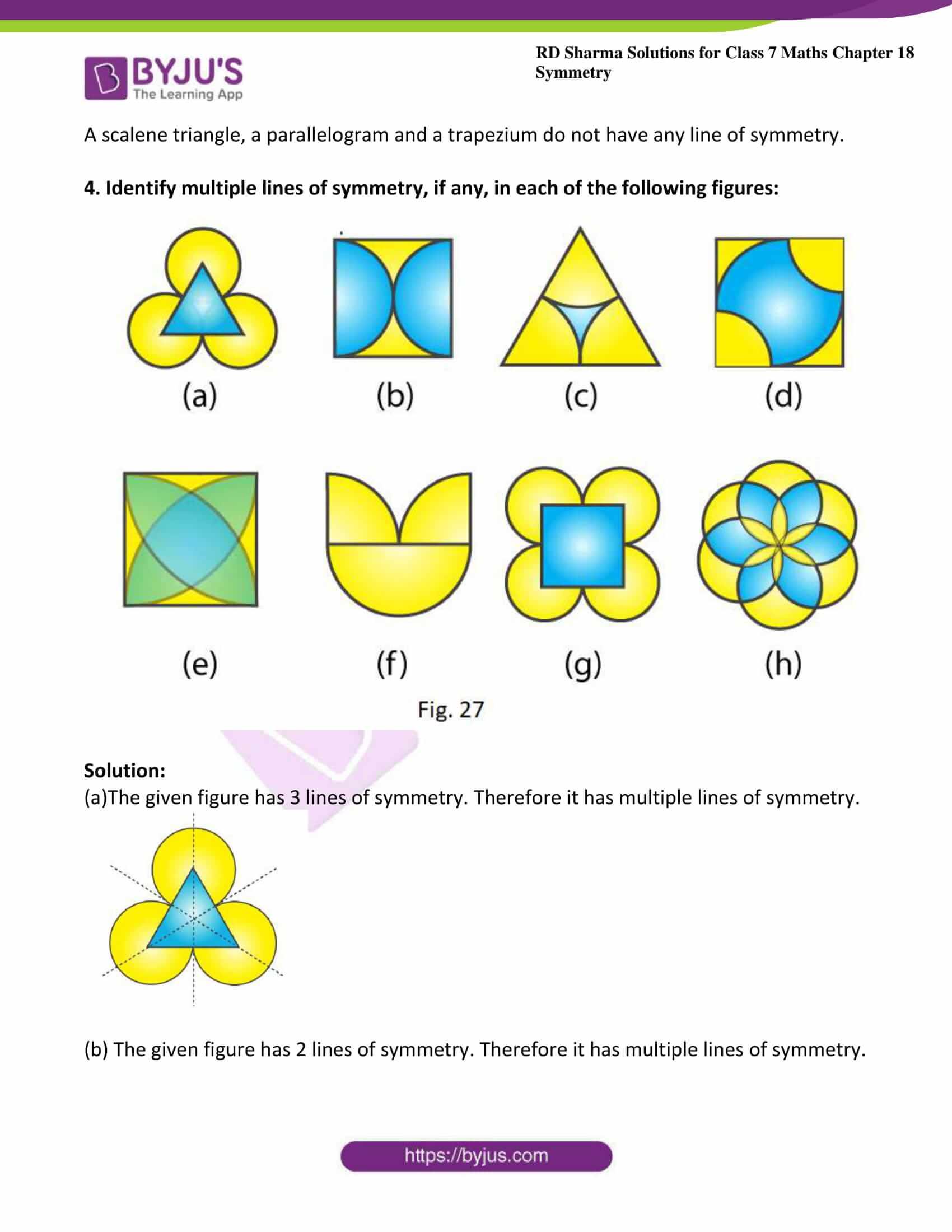 rd sharma maths class7 solution chapter 18 ex 1 4