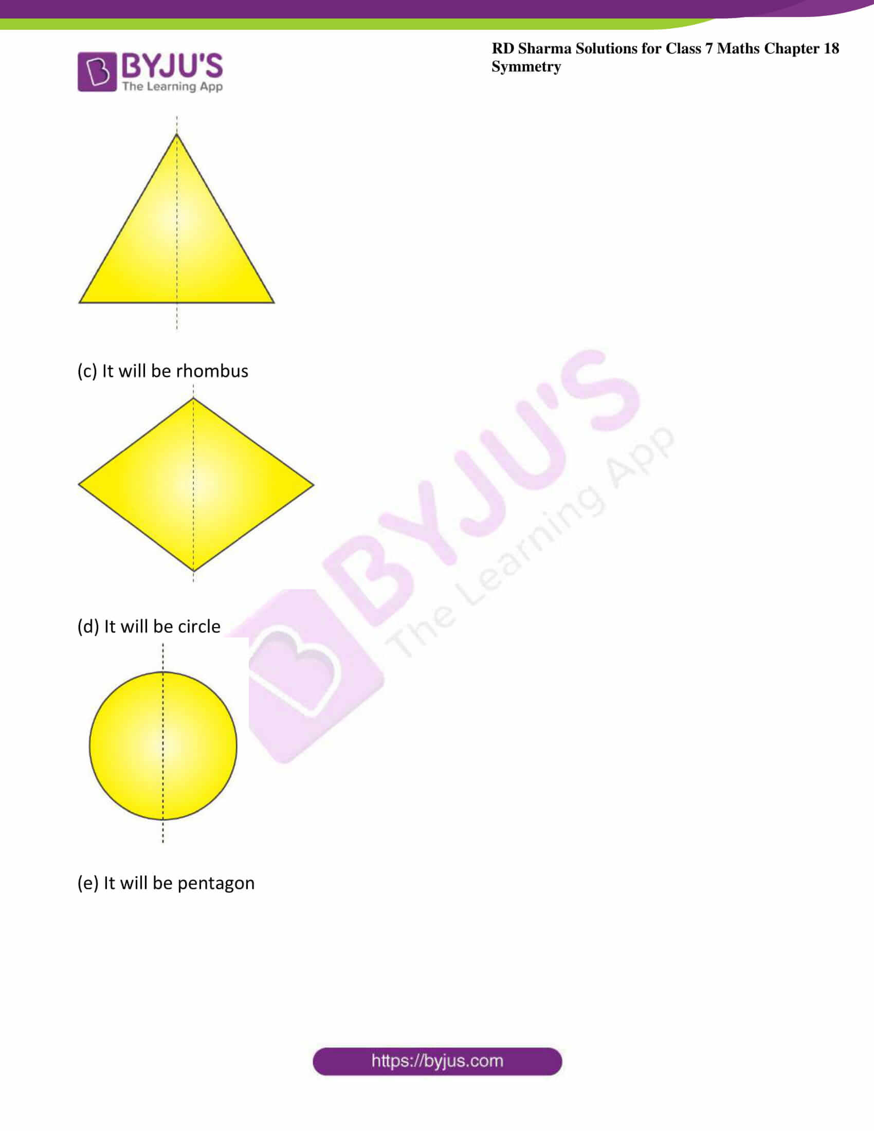 rd sharma maths class7 solution chapter 18 ex 2 2