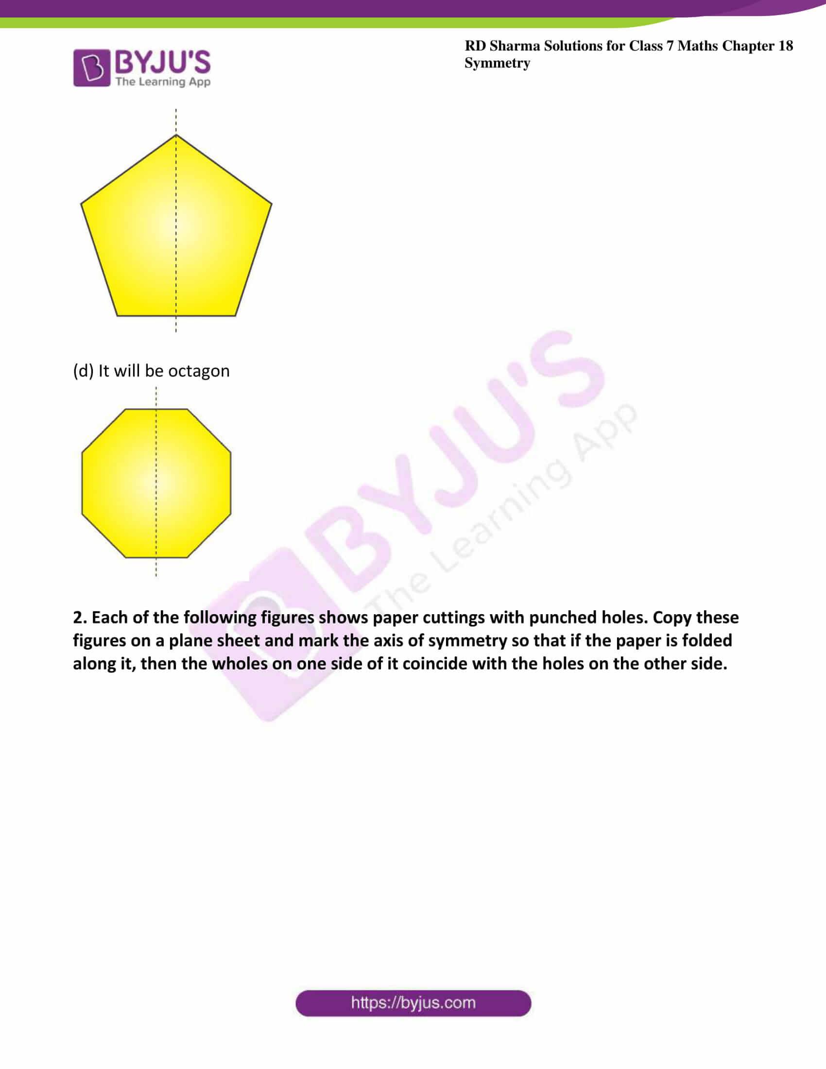 rd sharma maths class7 solution chapter 18 ex 2 3