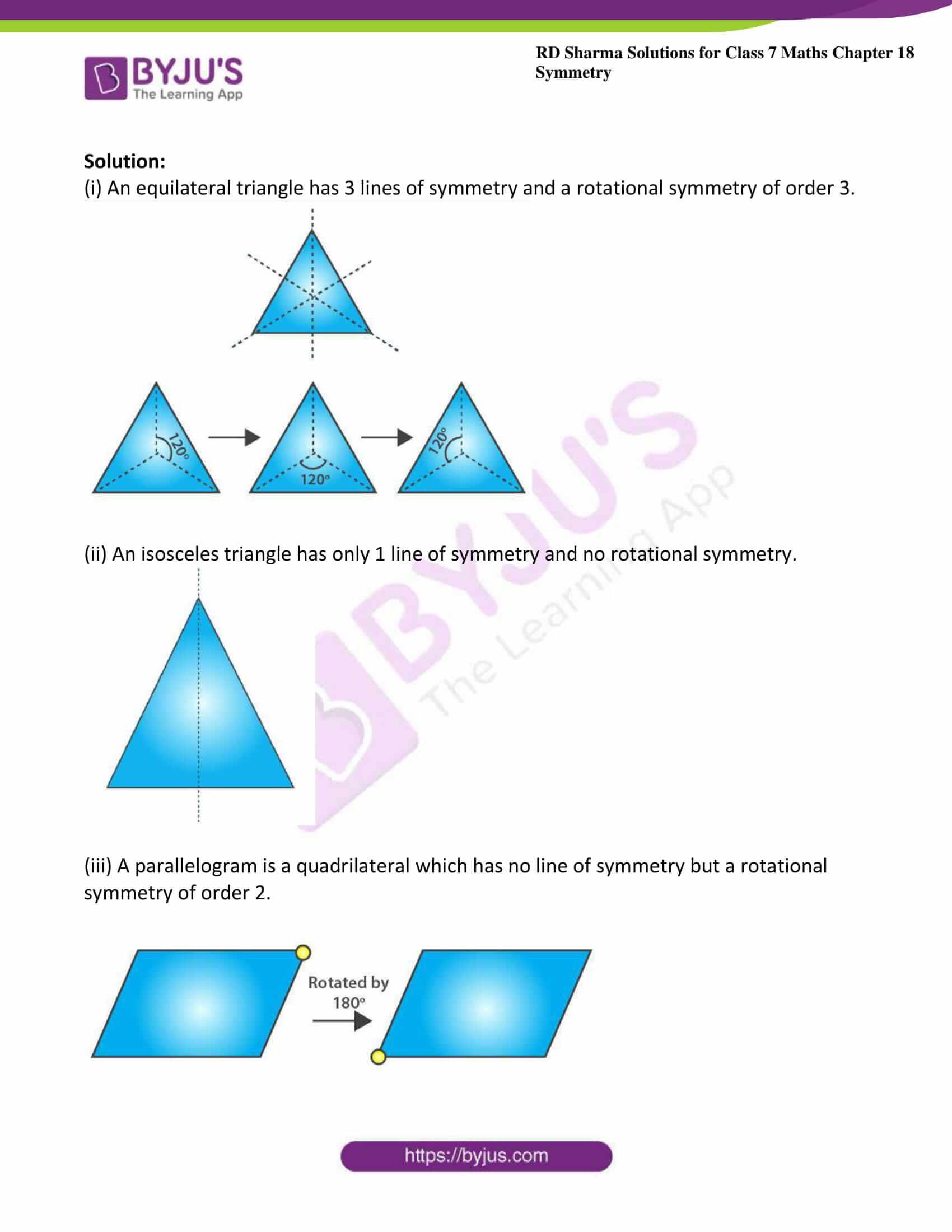 rd sharma maths class7 solution chapter 18 ex 3 5