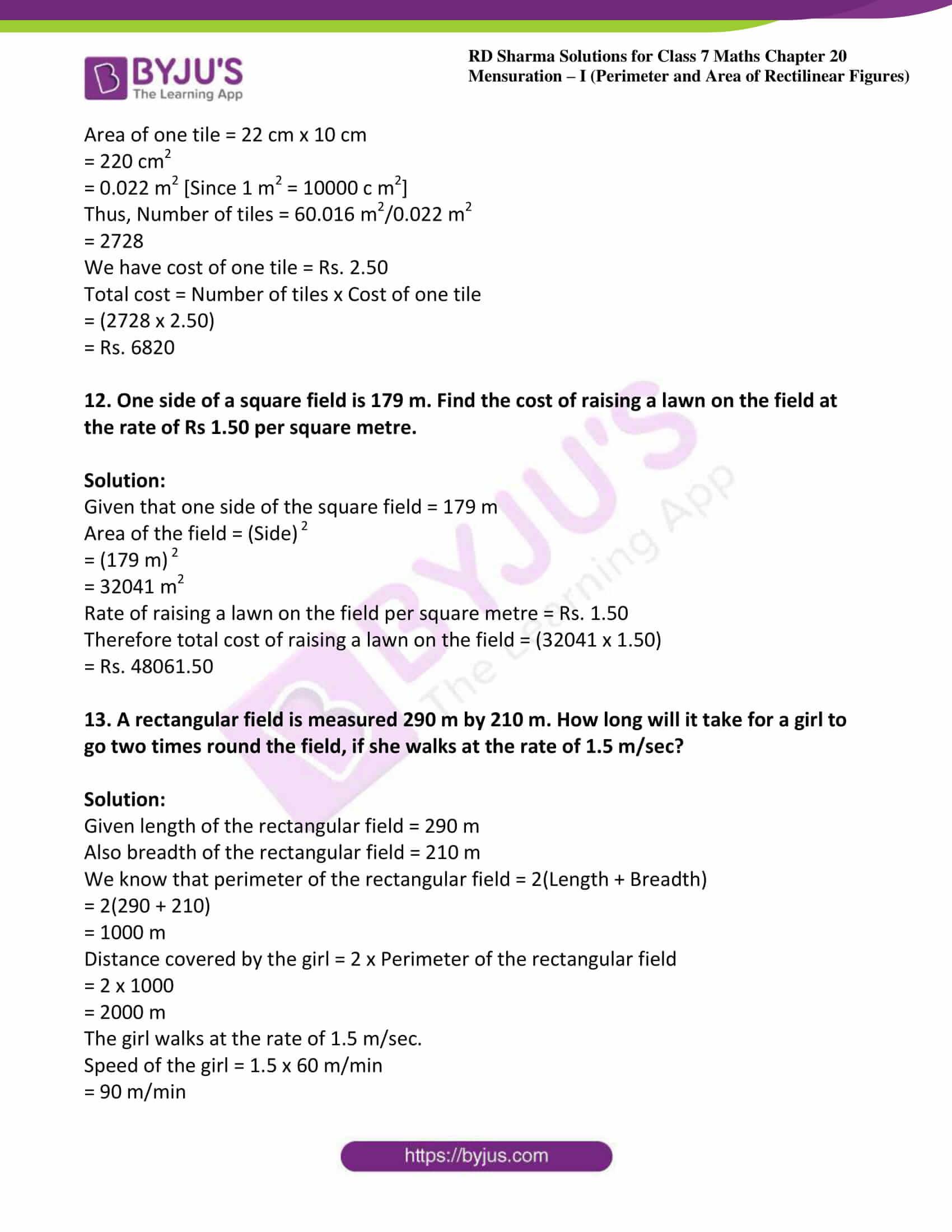 rd sharma maths class7 solution chapter 20 ex 1 06