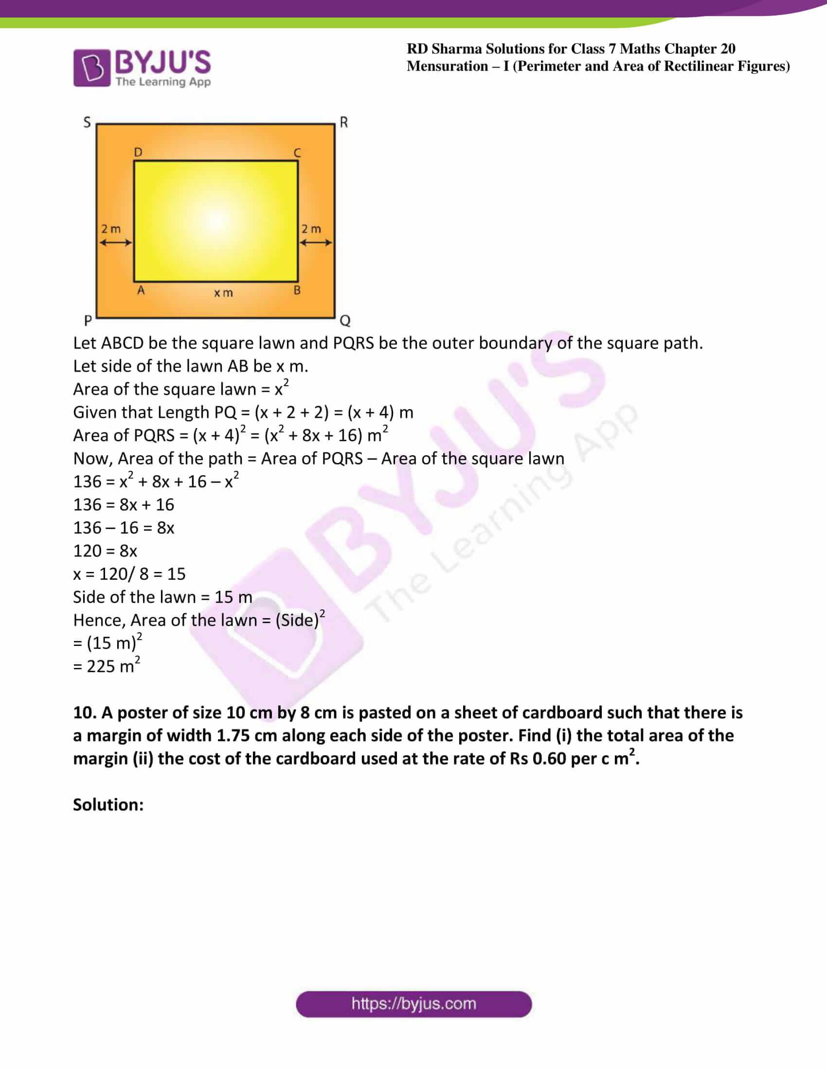 rd sharma maths class7 solution chapter 20 ex 2 08