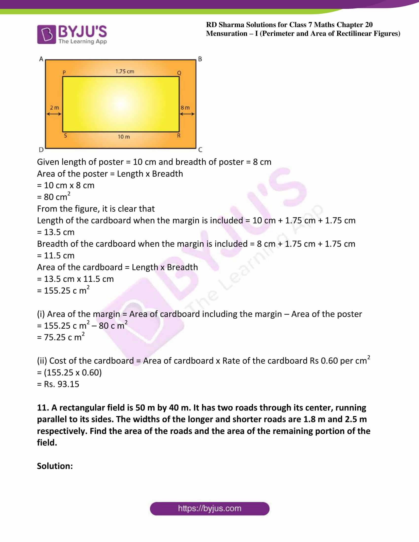 rd sharma maths class7 solution chapter 20 ex 2 09