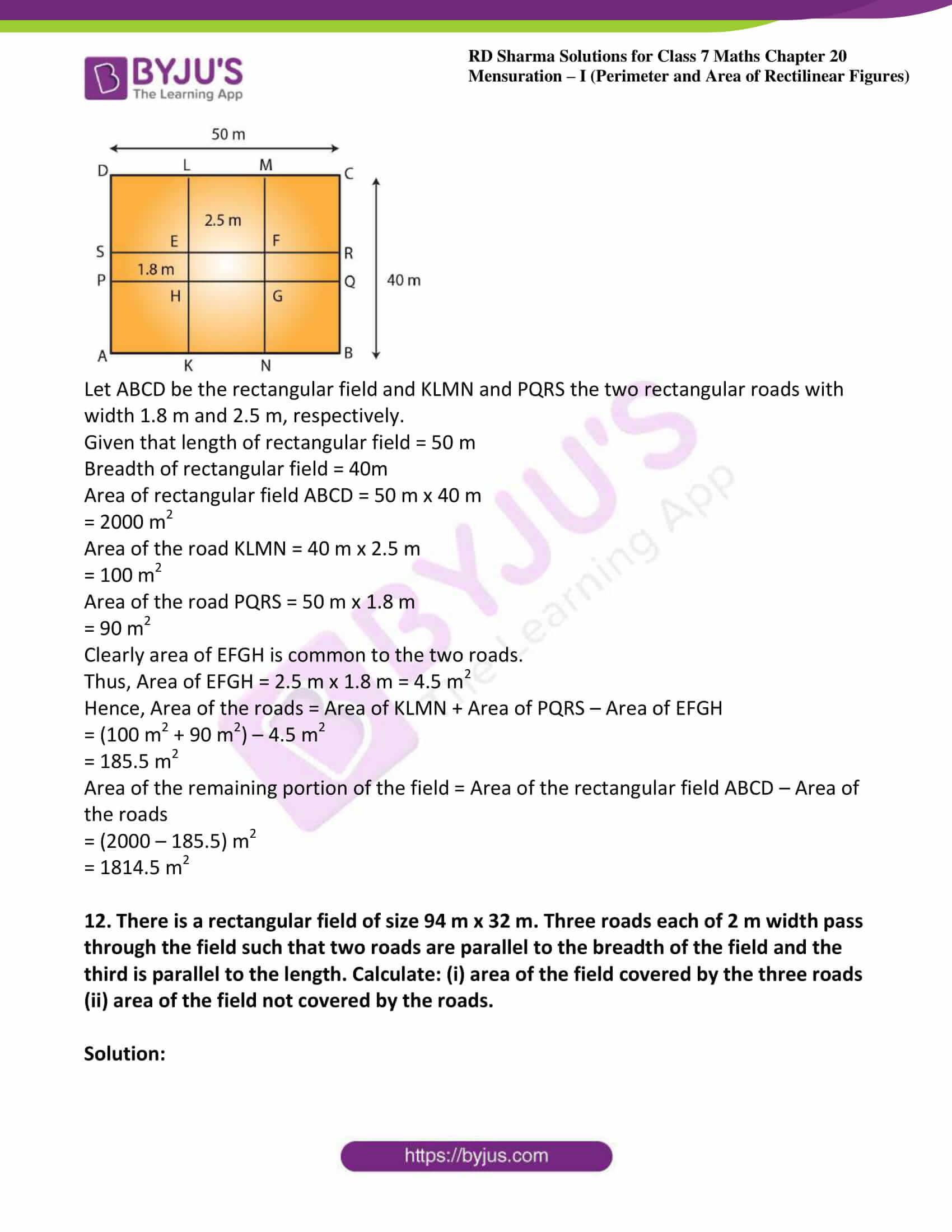 rd sharma maths class7 solution chapter 20 ex 2 10