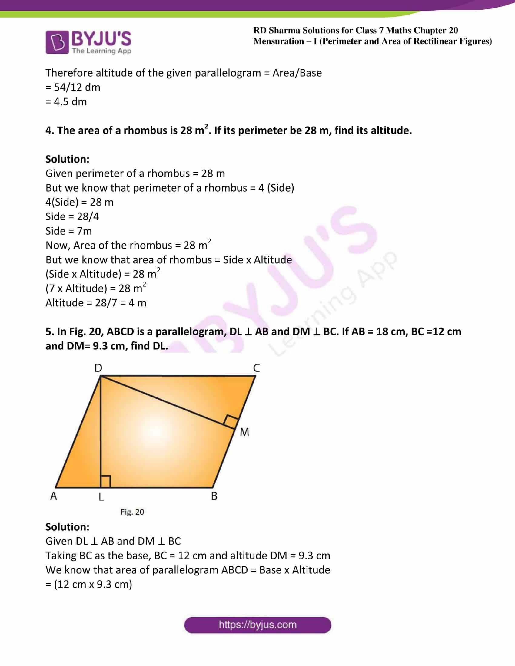 rd sharma maths class7 solution chapter 20 ex 3 02