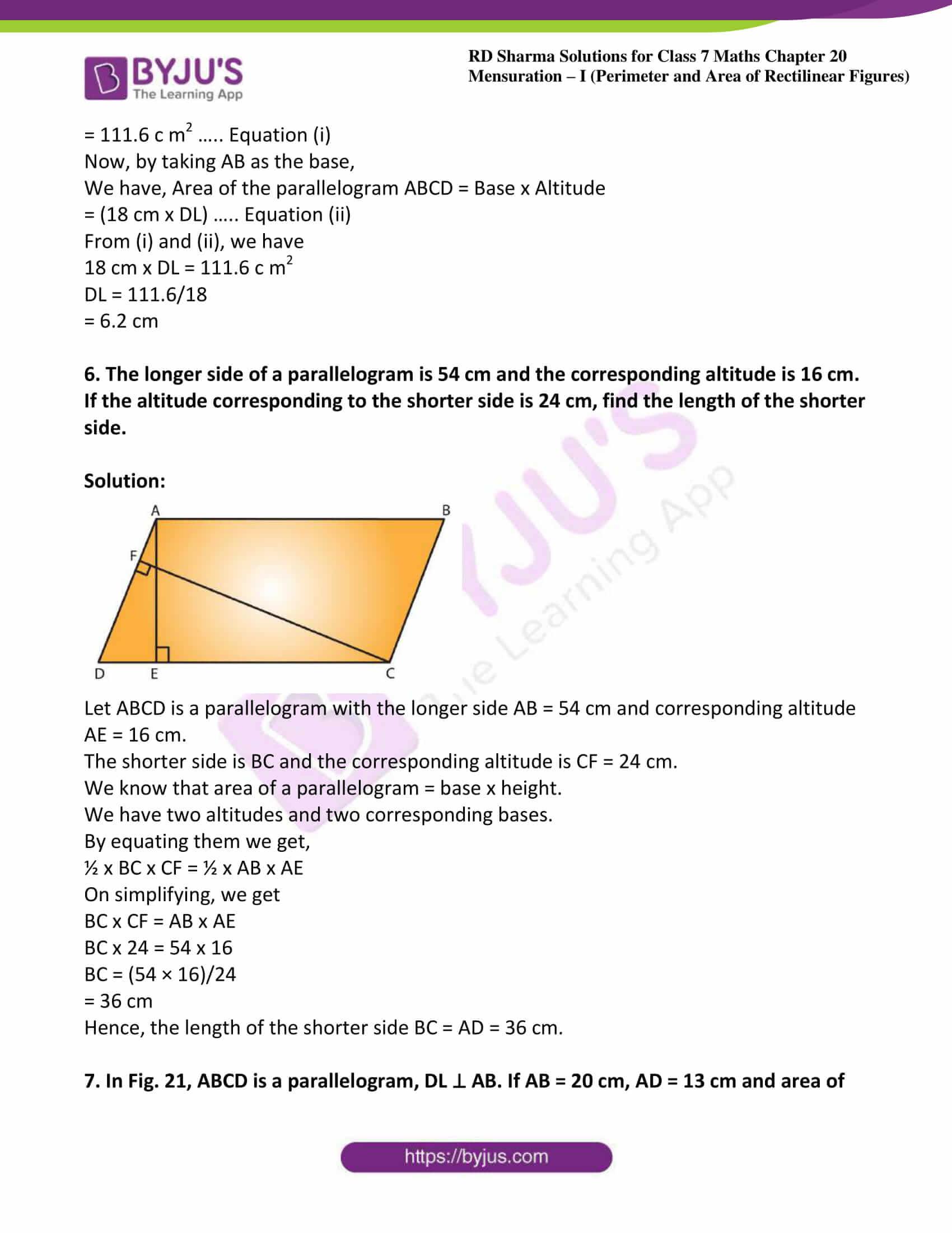 rd sharma maths class7 solution chapter 20 ex 3 03