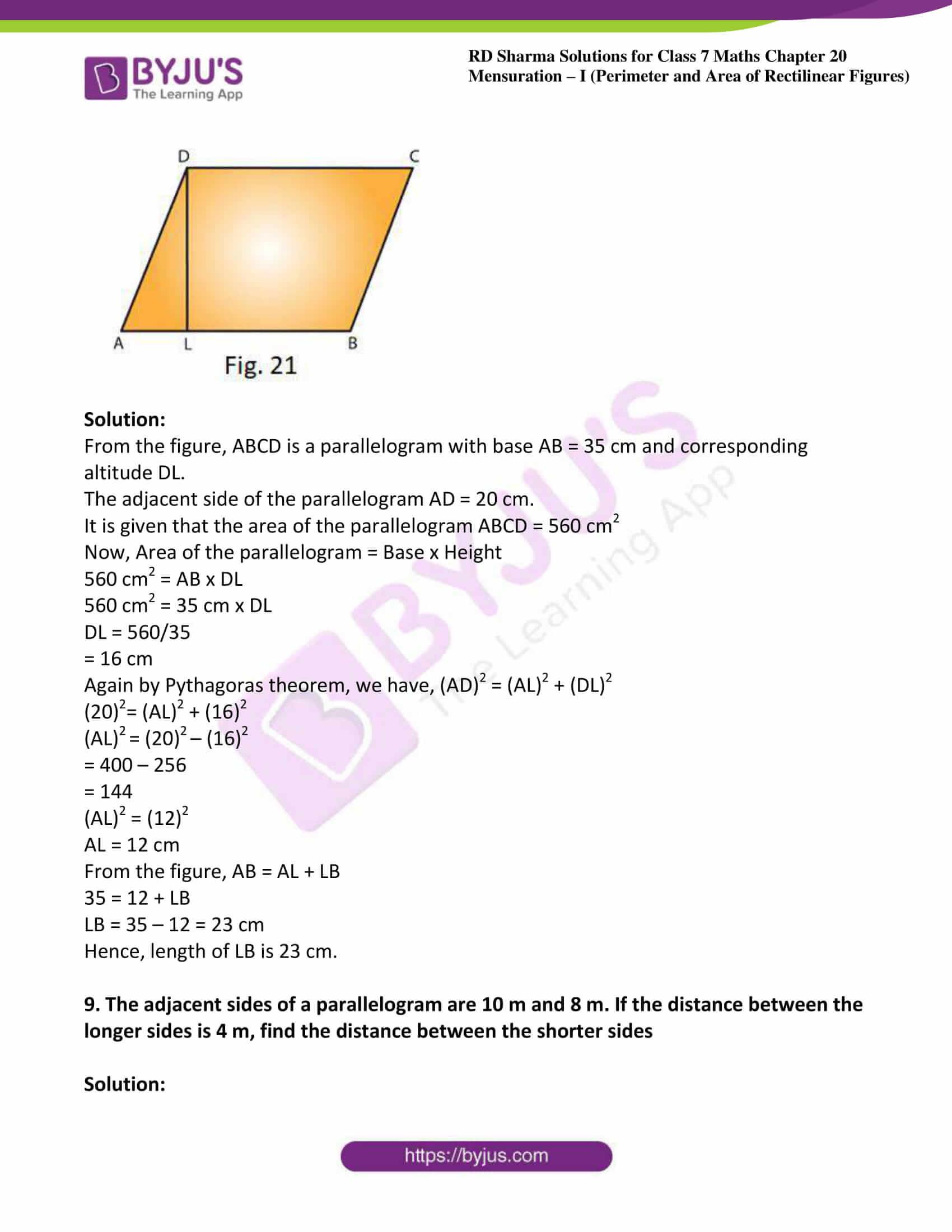 rd sharma maths class7 solution chapter 20 ex 3 05