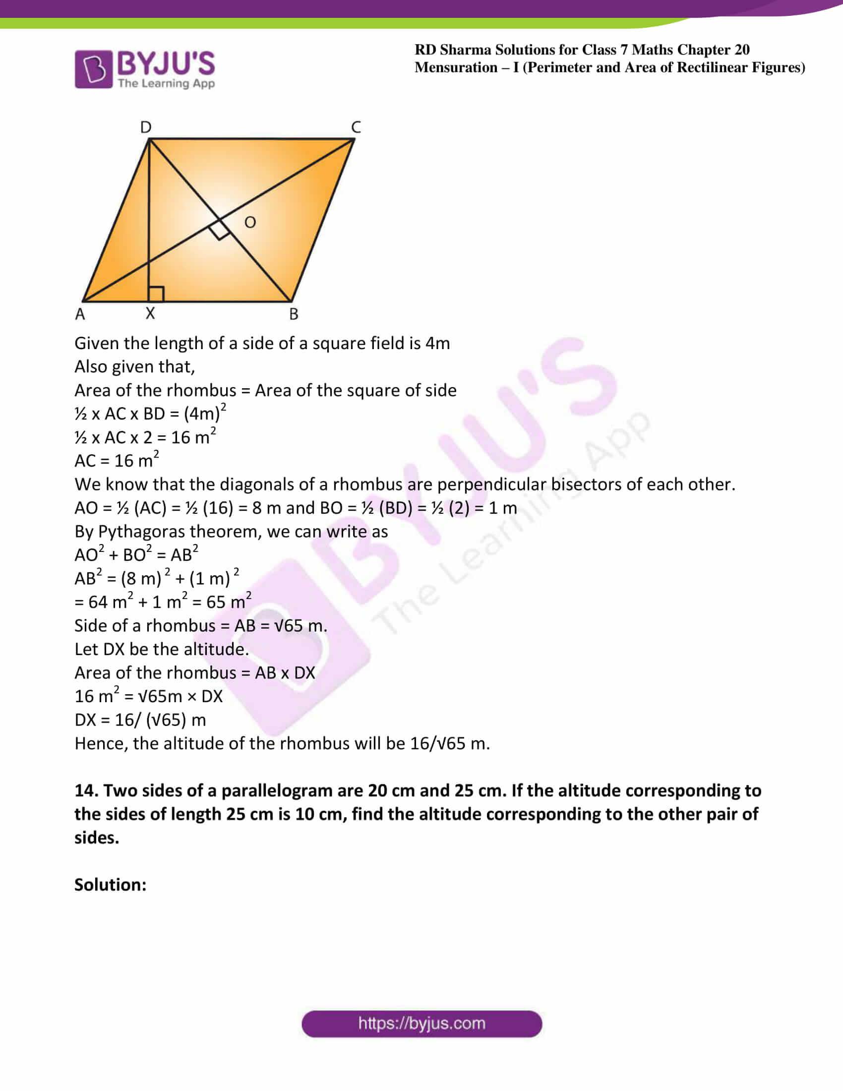 rd sharma maths class7 solution chapter 20 ex 3 09