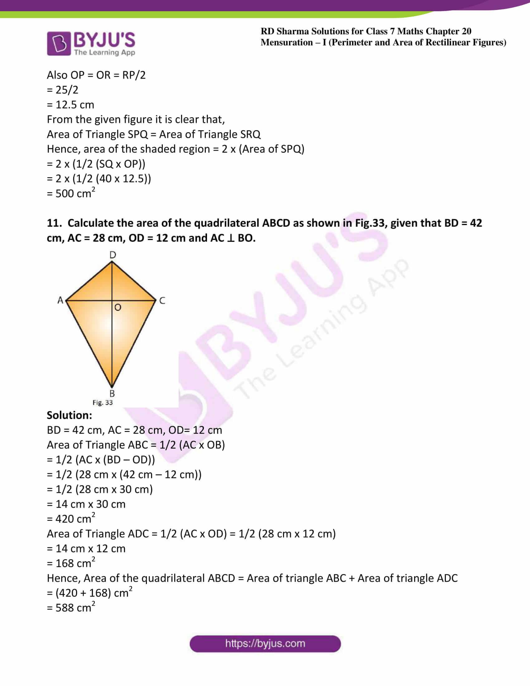 rd sharma maths class7 solution chapter 20 ex 4 06