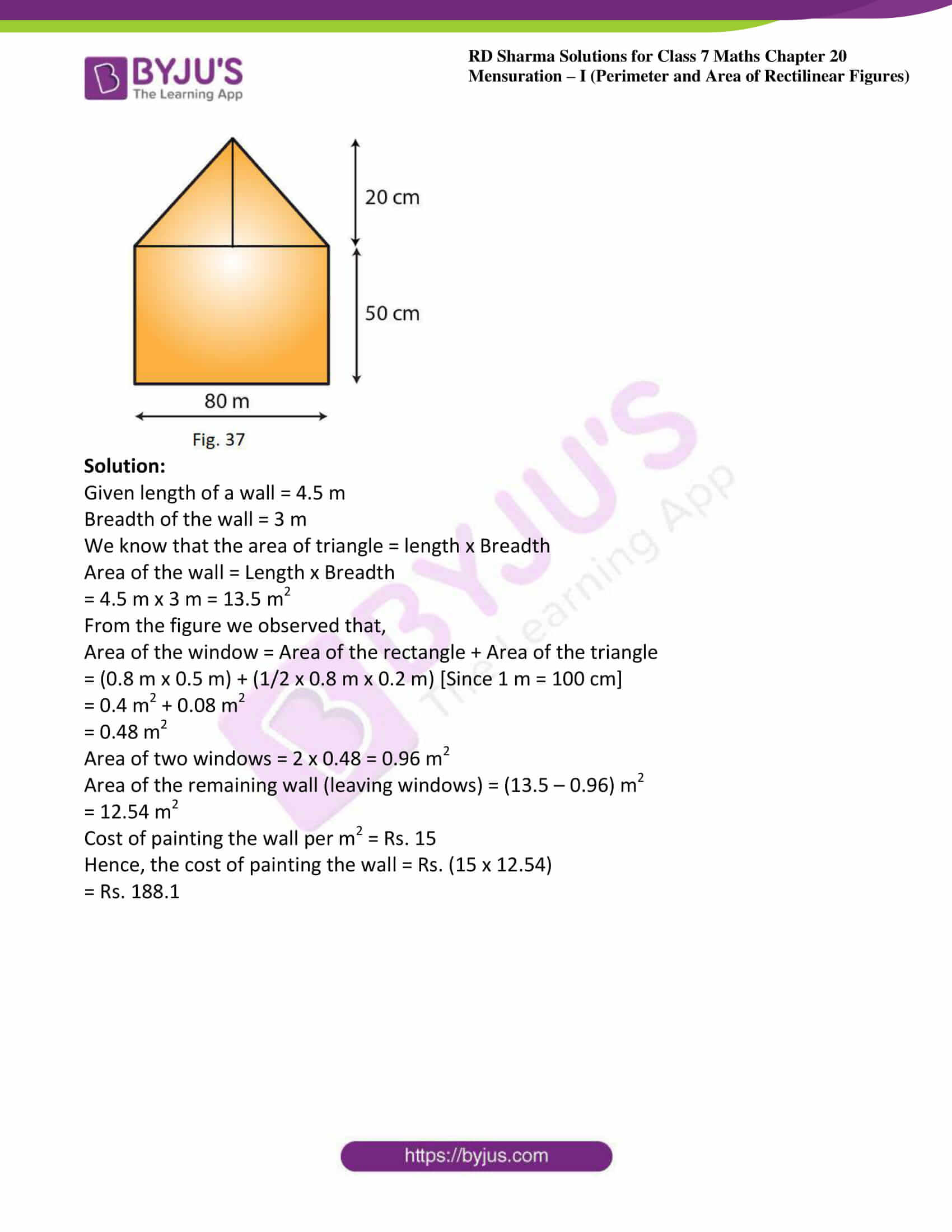 rd sharma maths class7 solution chapter 20 ex 4 12