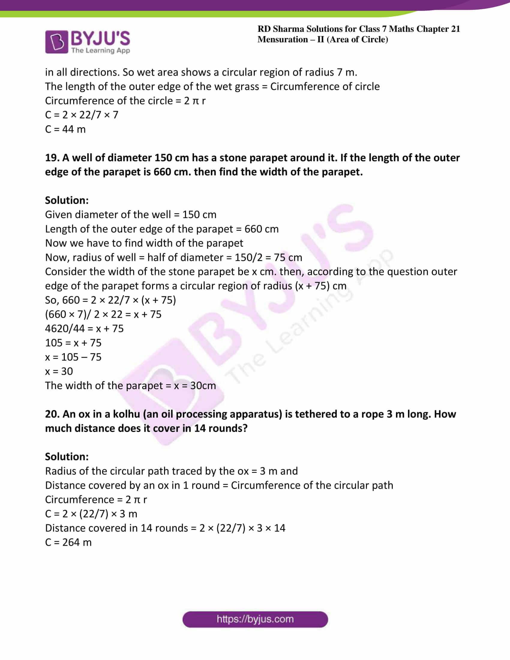 rd sharma maths class7 solution chapter 21 ex 1 10