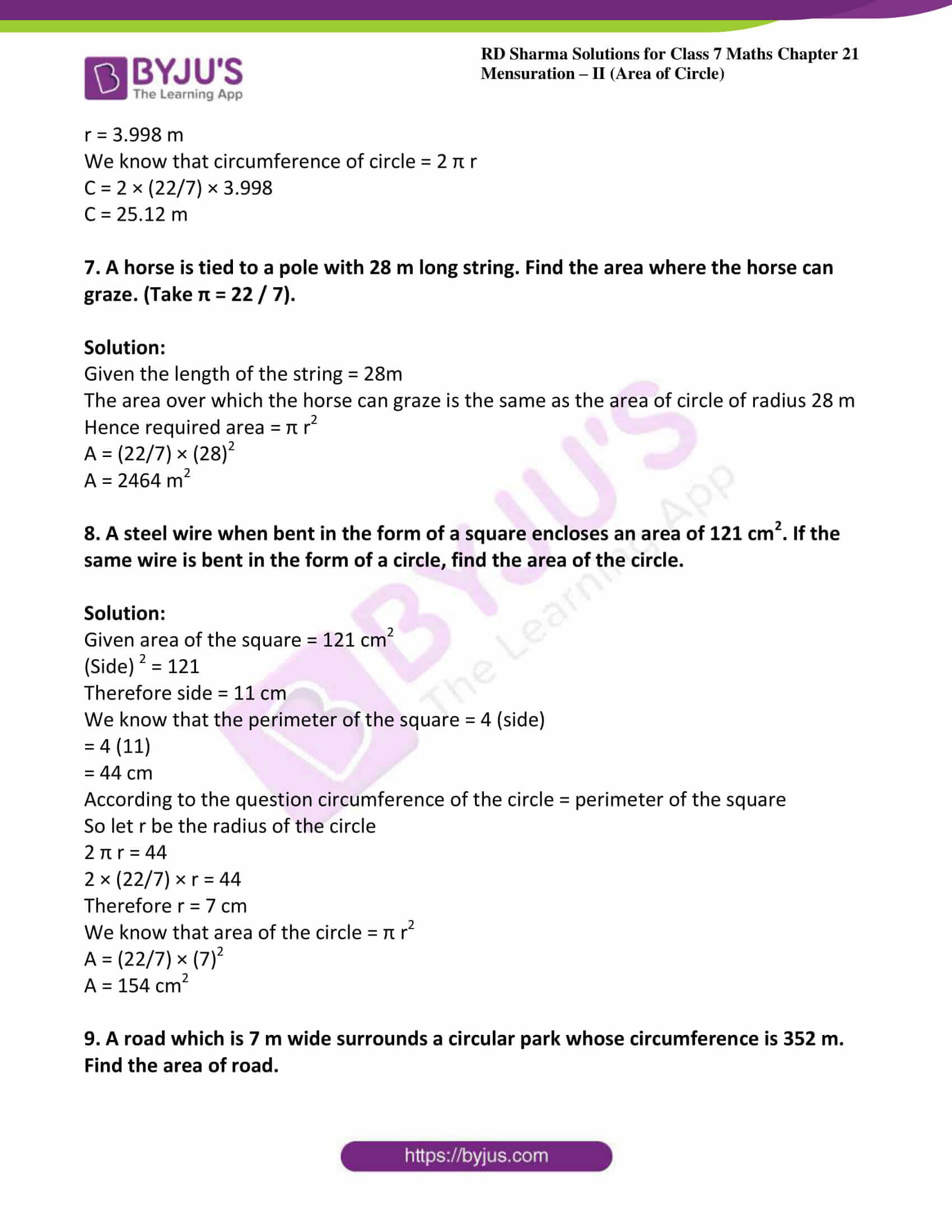 rd sharma maths class7 solution chapter 21 ex 2 04