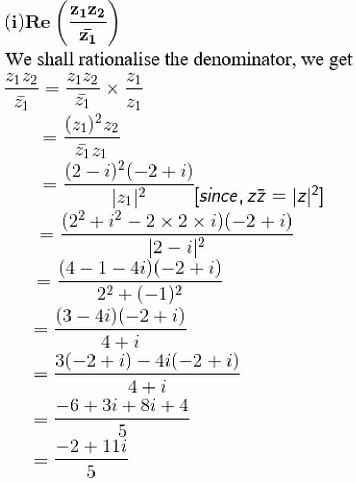 RD Sharma Solutions for Class 11 Maths Chapter 13 – Complex Numbers image - 19