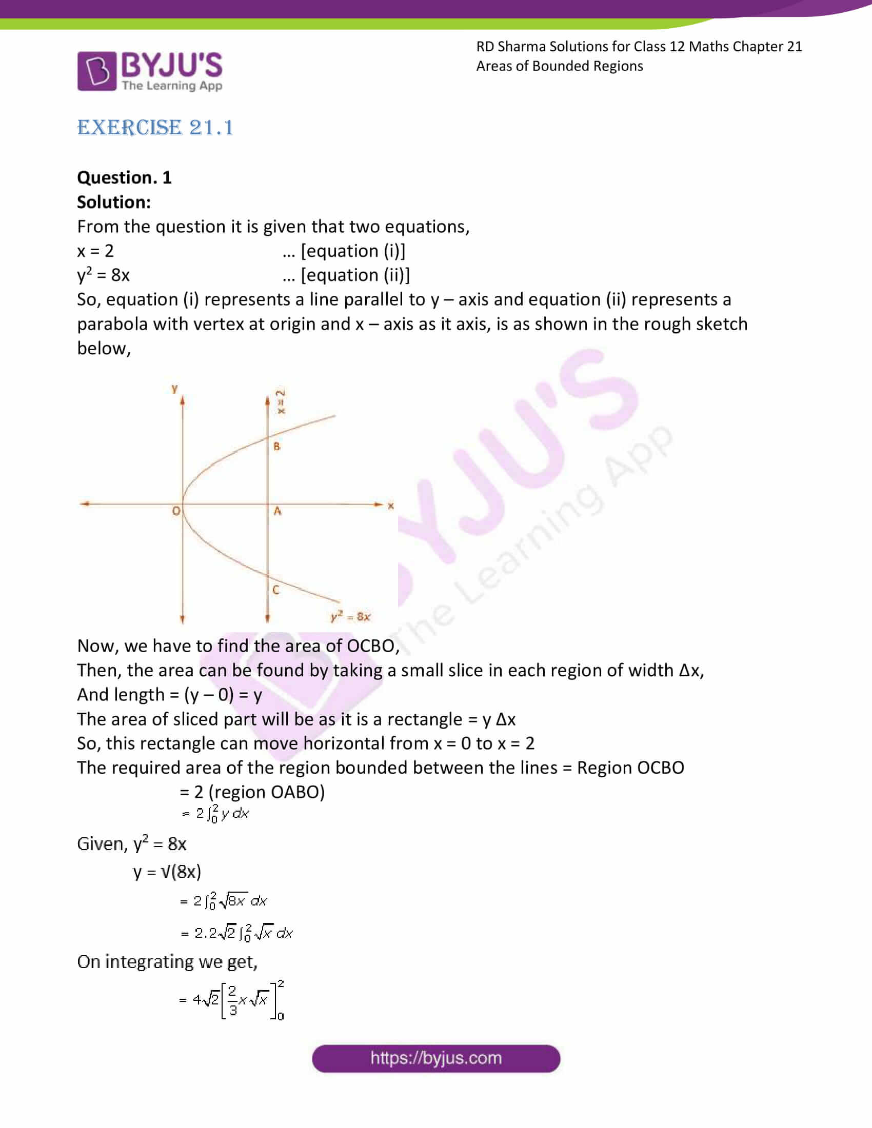 rd sharma solutions for class 12 maths chapter 21 ex 1 1