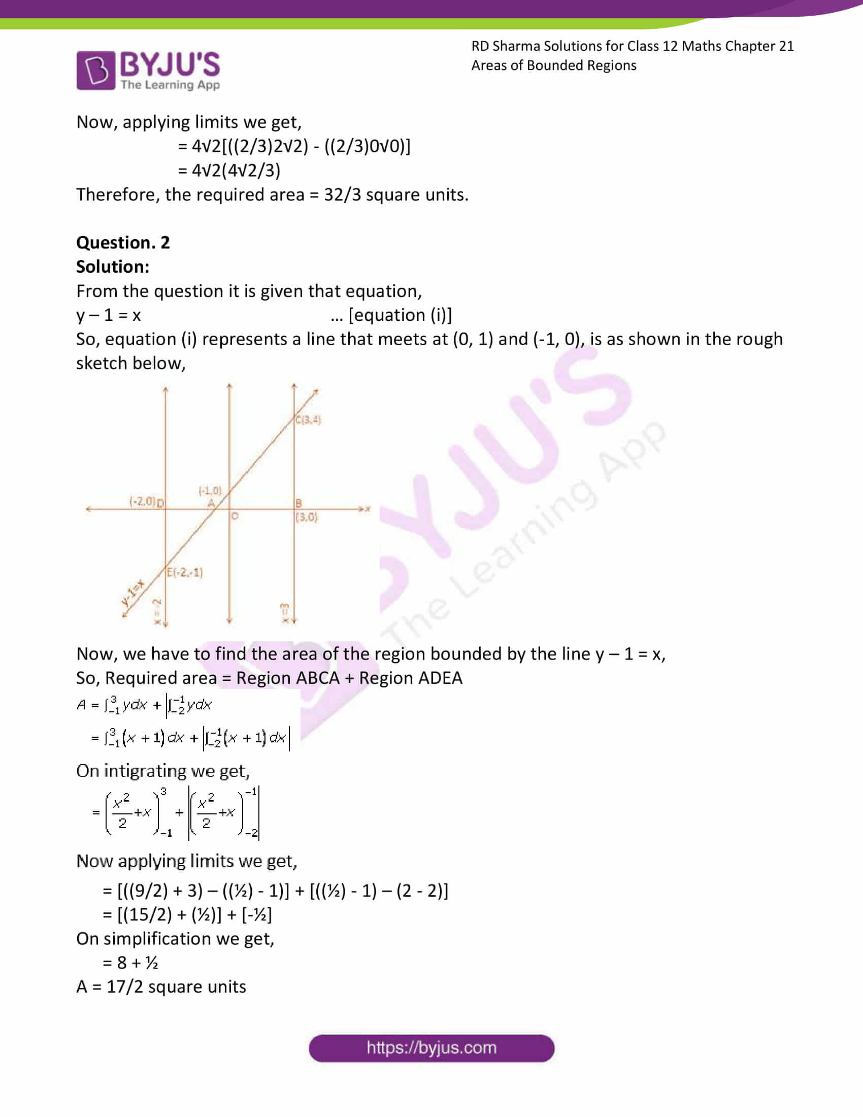 rd sharma solutions for class 12 maths chapter 21 ex 1 2
