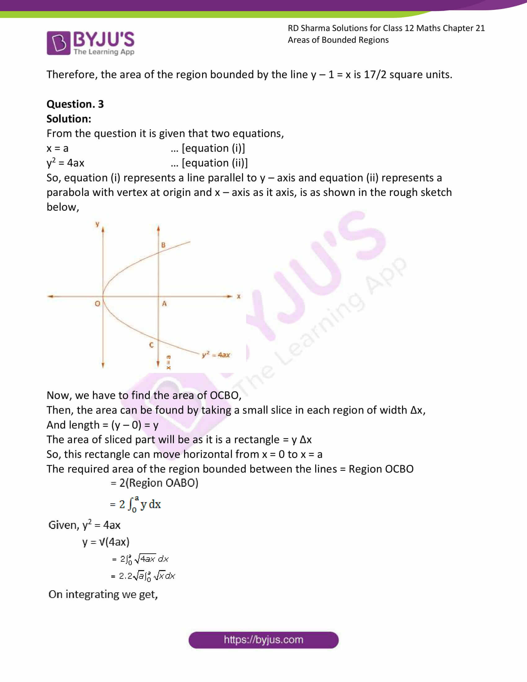 rd sharma solutions for class 12 maths chapter 21 ex 1 3