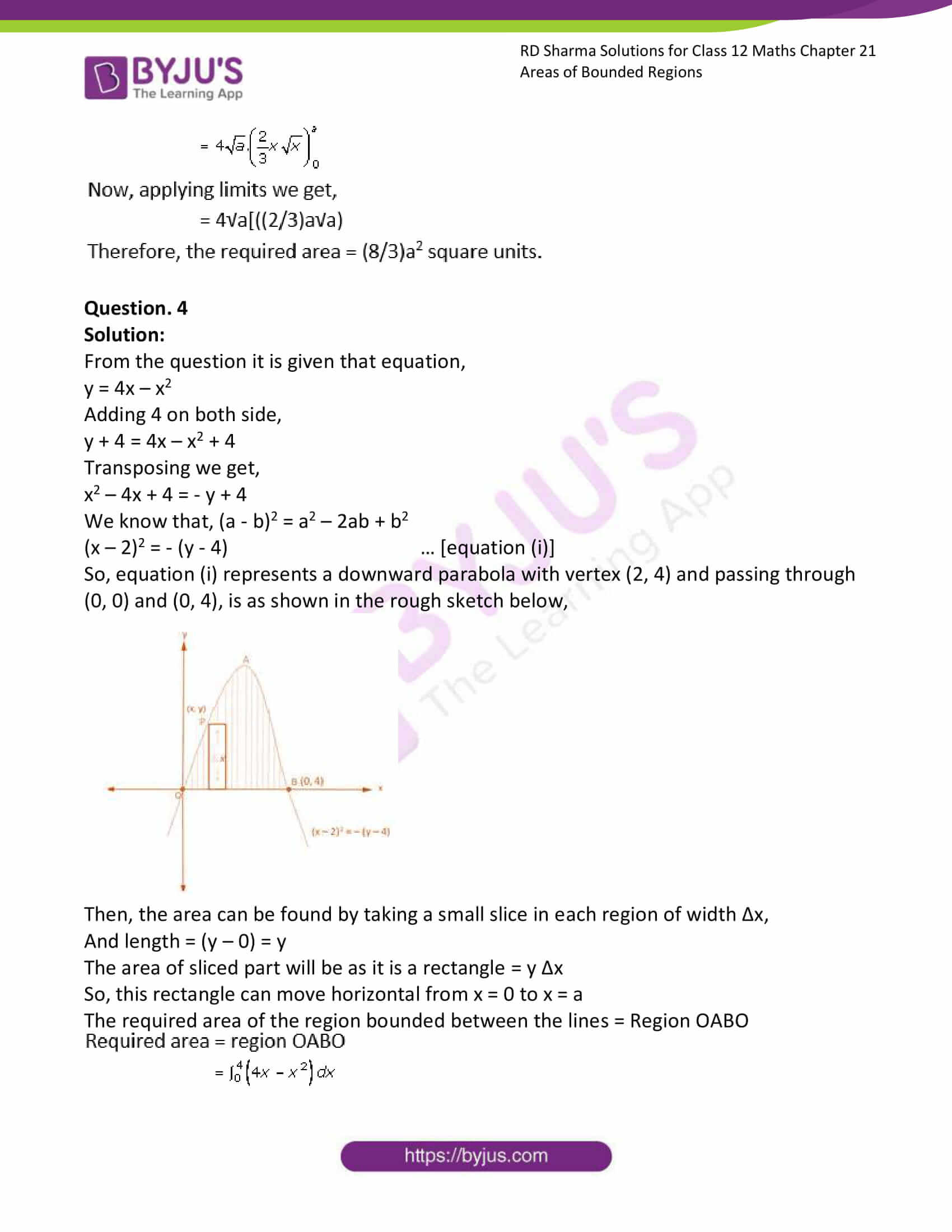 rd sharma solutions for class 12 maths chapter 21 ex 1 4
