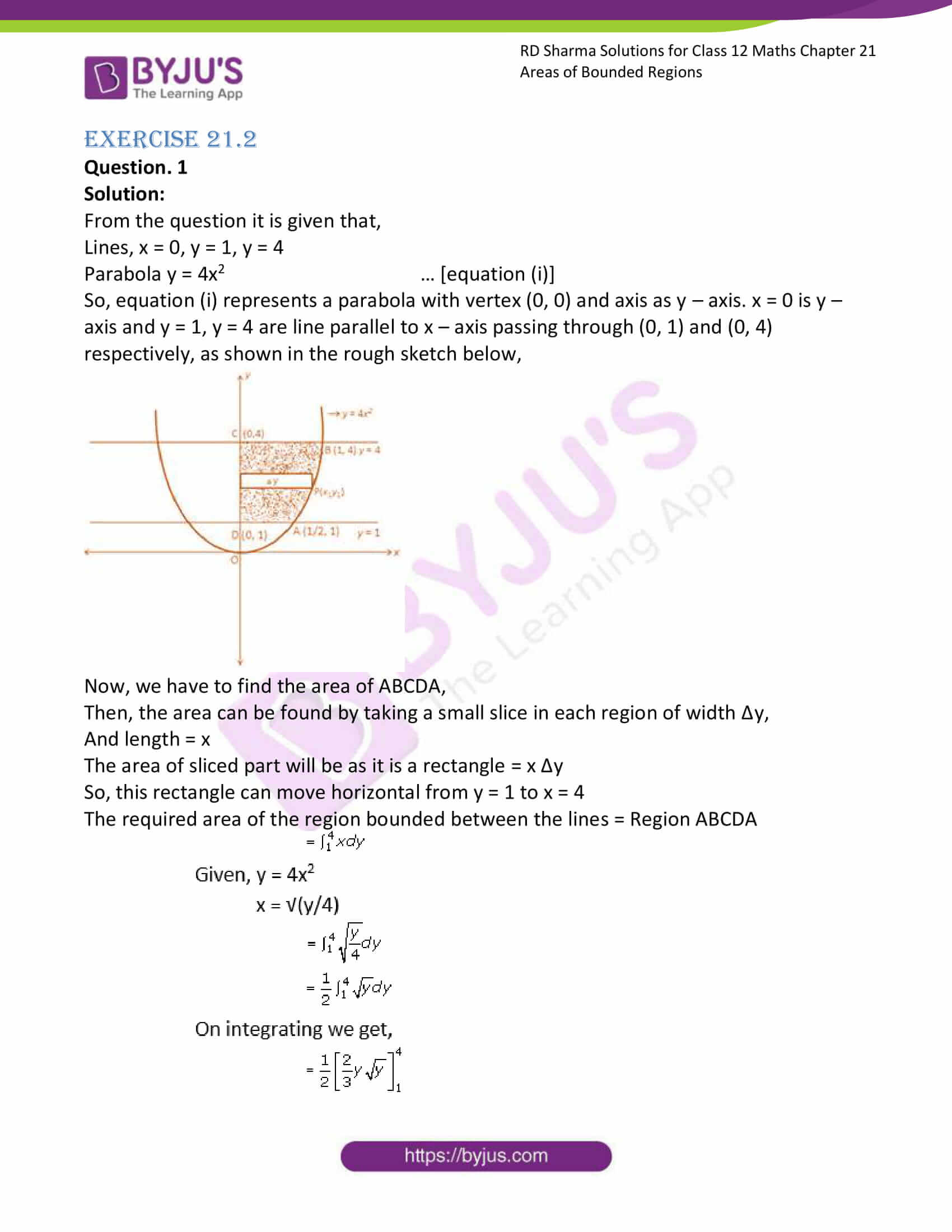 rd sharma solutions for class 12 maths chapter 21 ex 2 1