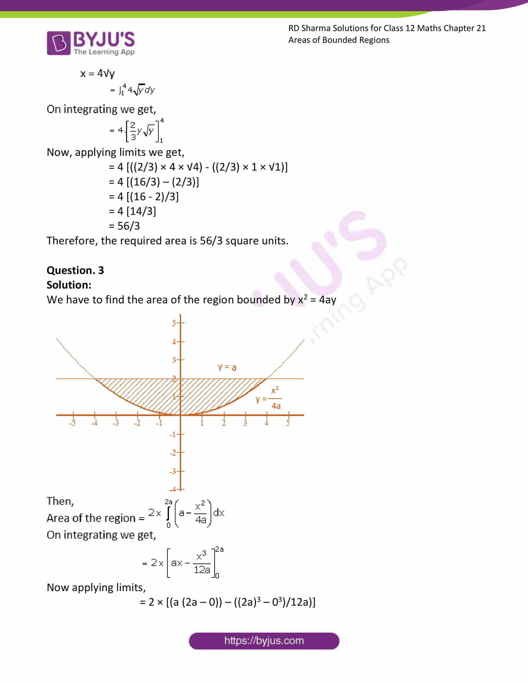 rd sharma solutions for class 12 maths chapter 21 ex 2 3